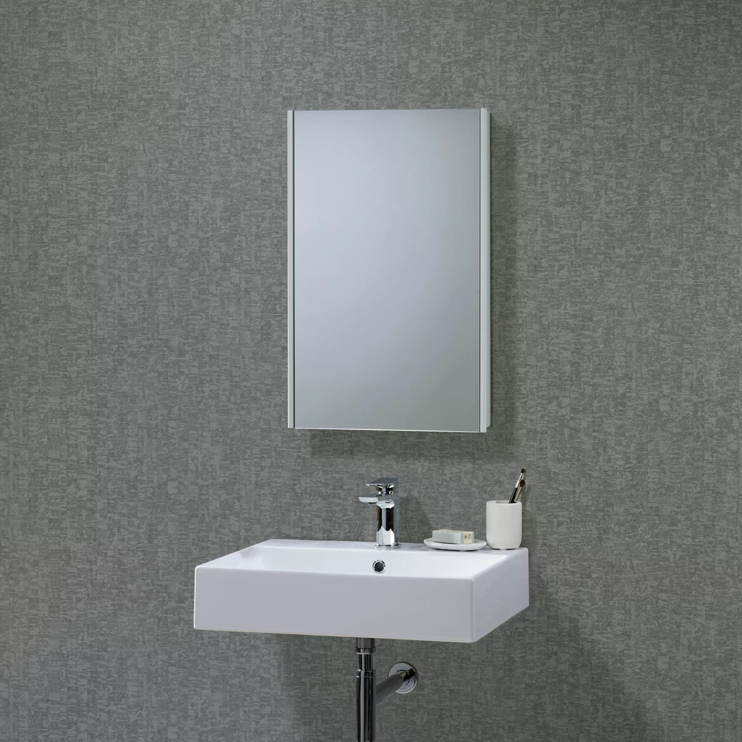 Mirrored Bathroom Cupboard Roper Rhodes Limit Slimline Single Mirrored Bathroom