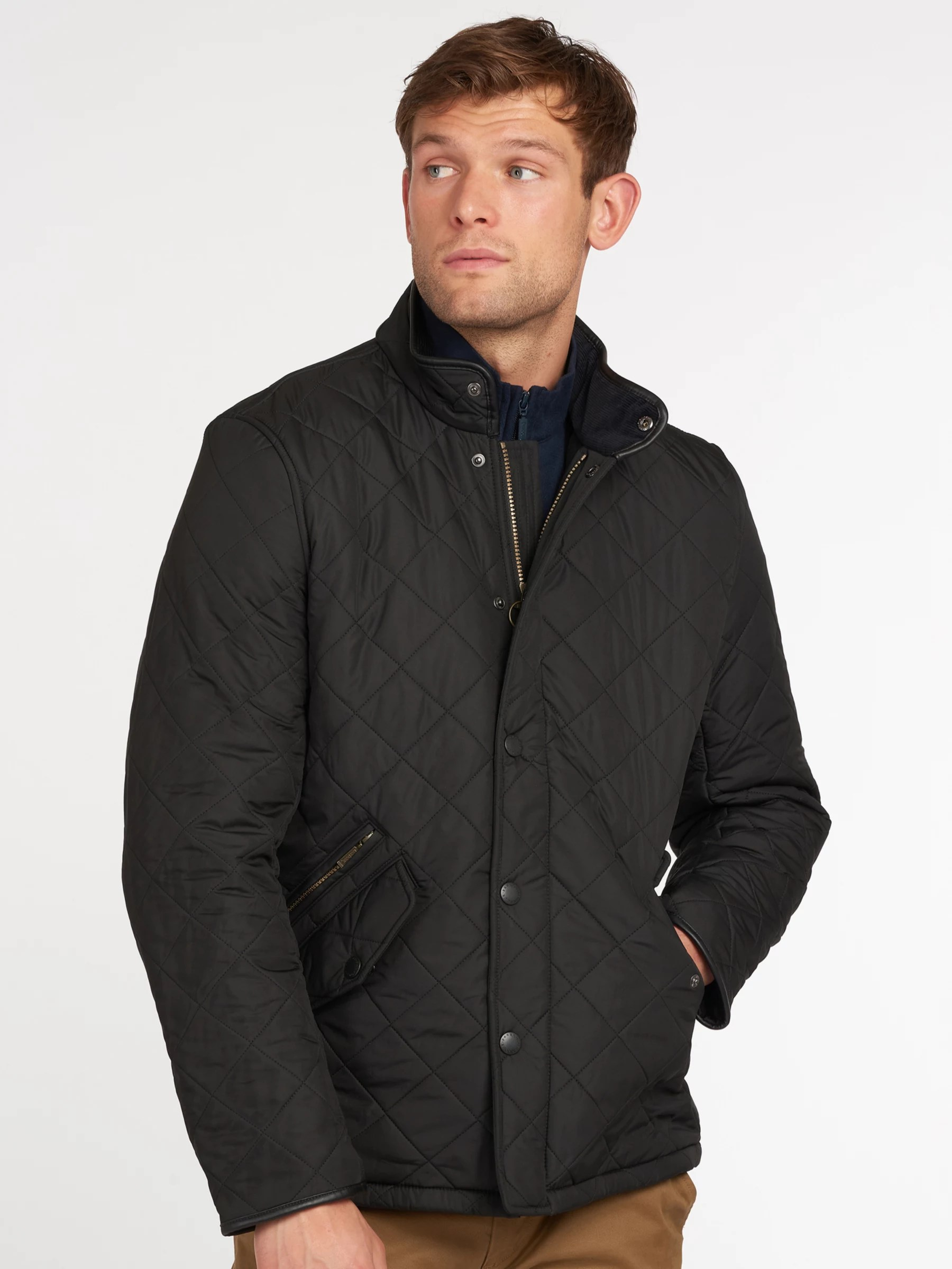 Barbour Lifestyle Powell Quilted Jacket at John Lewis ...