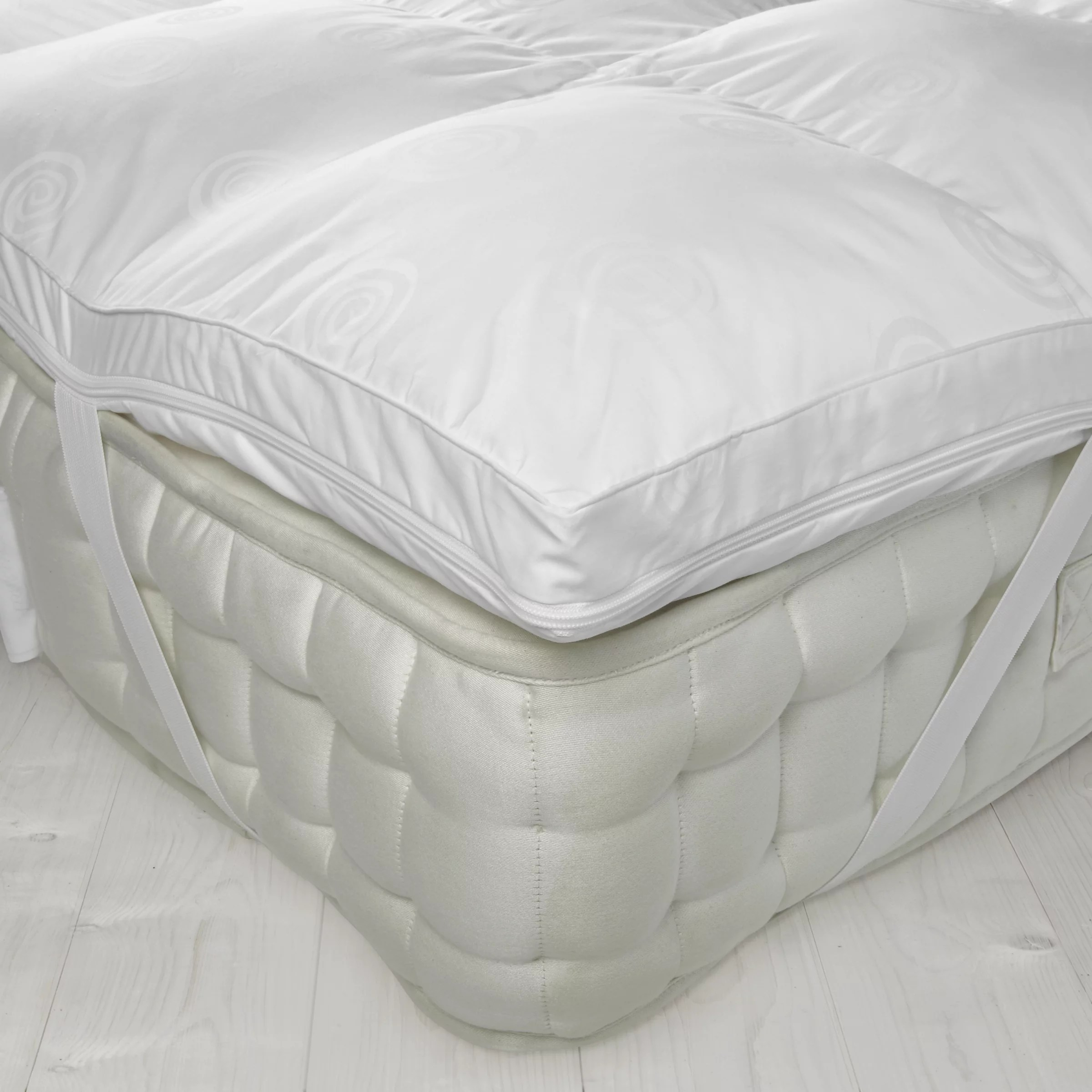 Double Bed Mattress Cover John Lewis Partners Luxury Memory Foam With Microfibre Mattress Topper