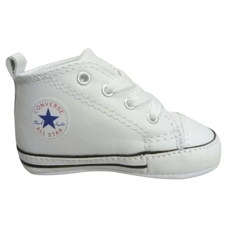 Baby White Converse Pram Shoes Converse First Star Br7cca95a Breakfreeweb