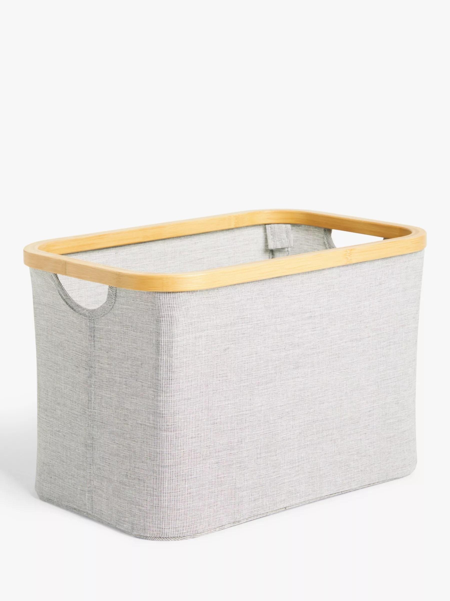 wedding dress storage box canada wedding dress storage box John Lewis Bamboo Rim Storage Basket At Johnlewis