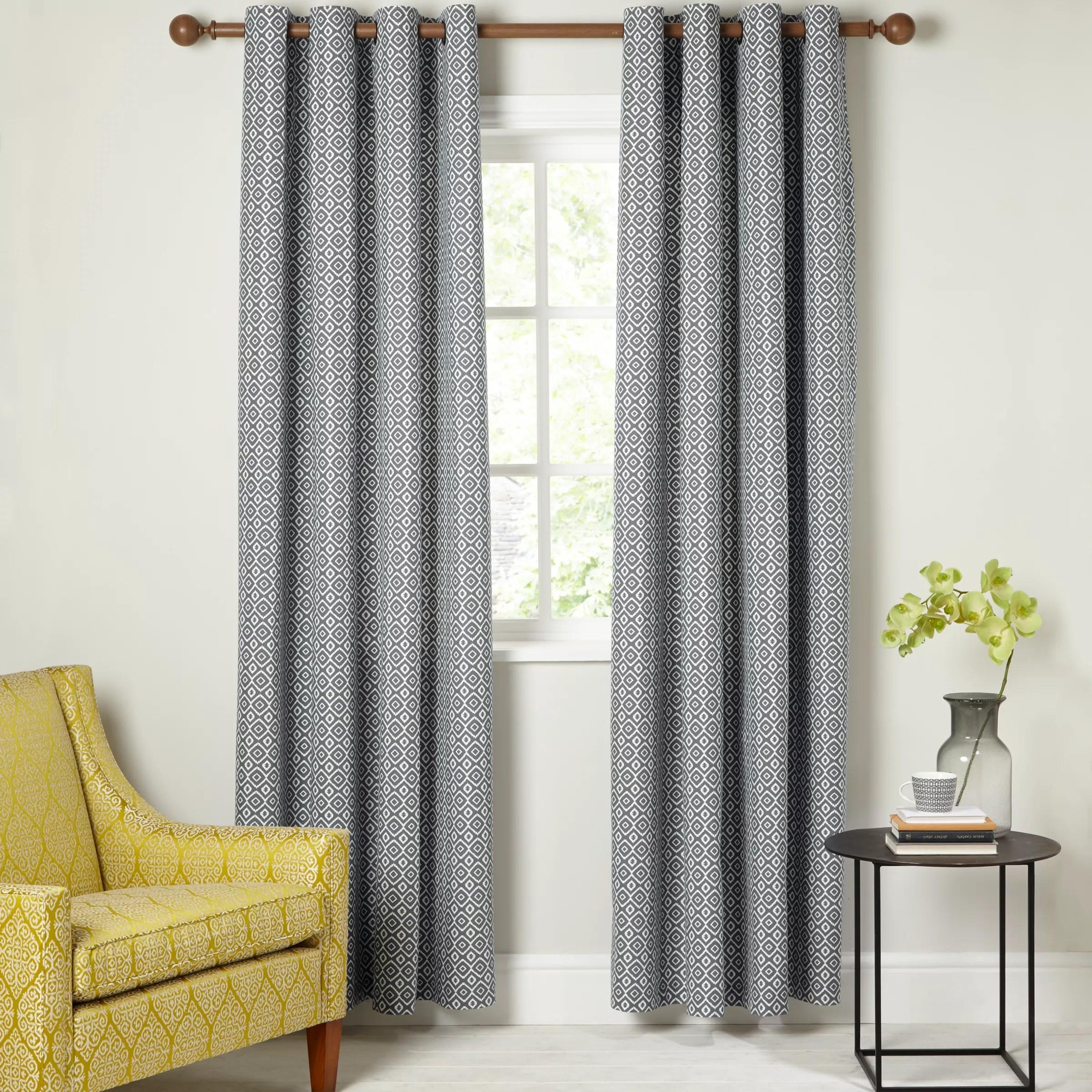 buy john lewis nazca lined eyelet curtains online at johnlewis com