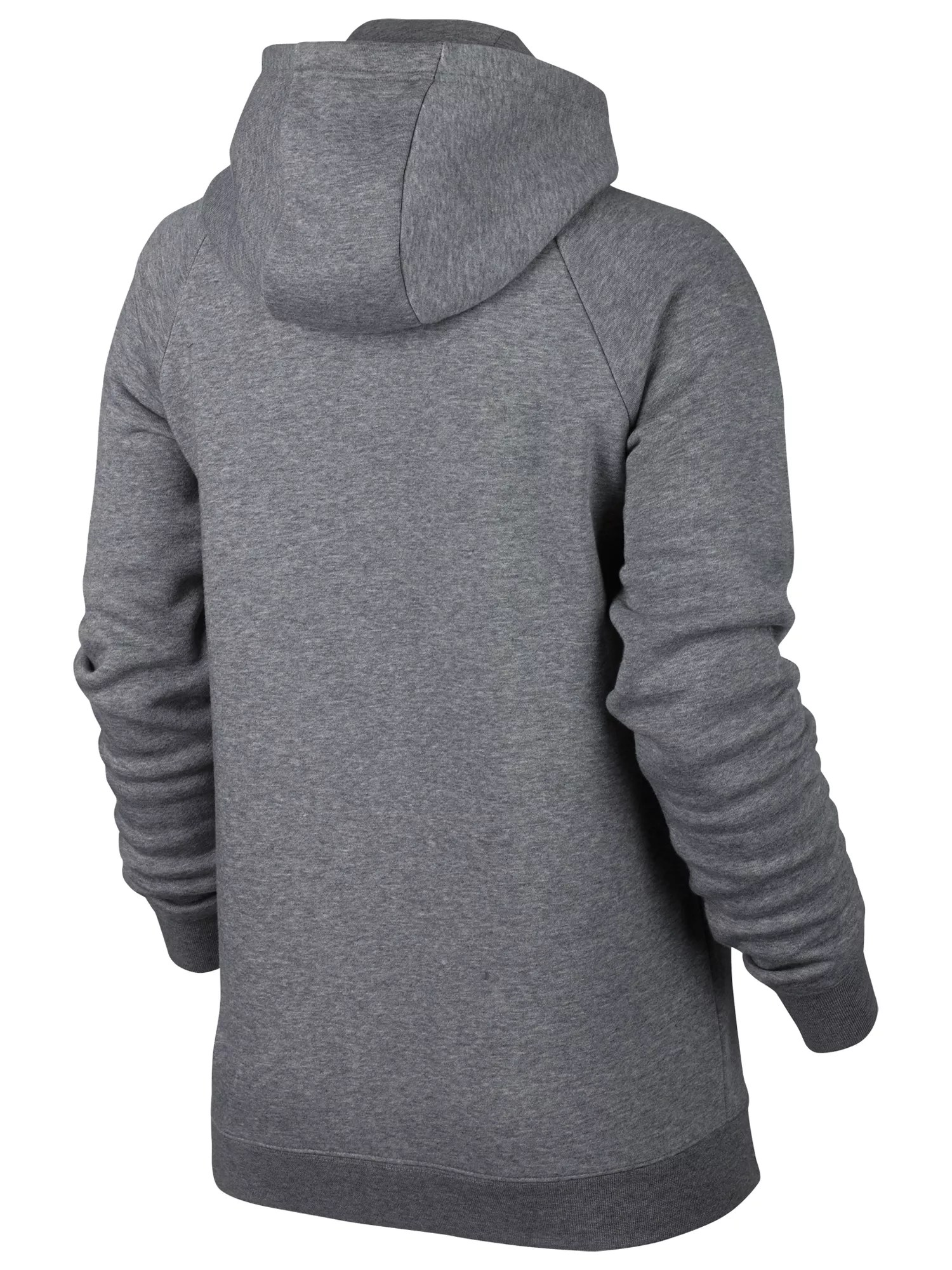 Nike Hoodie Carbon Heather Nike Sportswear Full Zip Rally Hoodie At John Lewis Partners