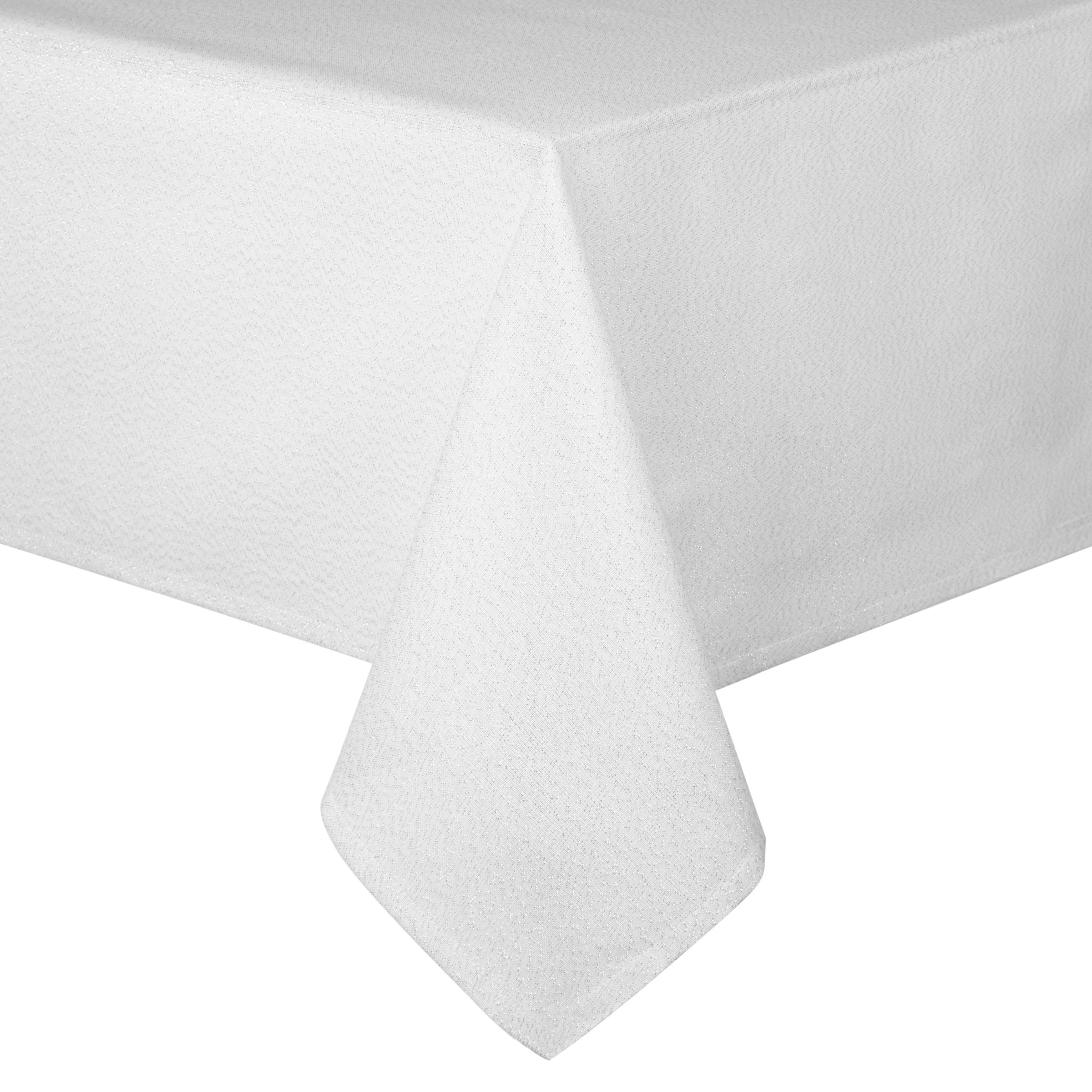 Christmas Tablecloths Australia John Lewis Partners Sparkle Tablecloth Silver