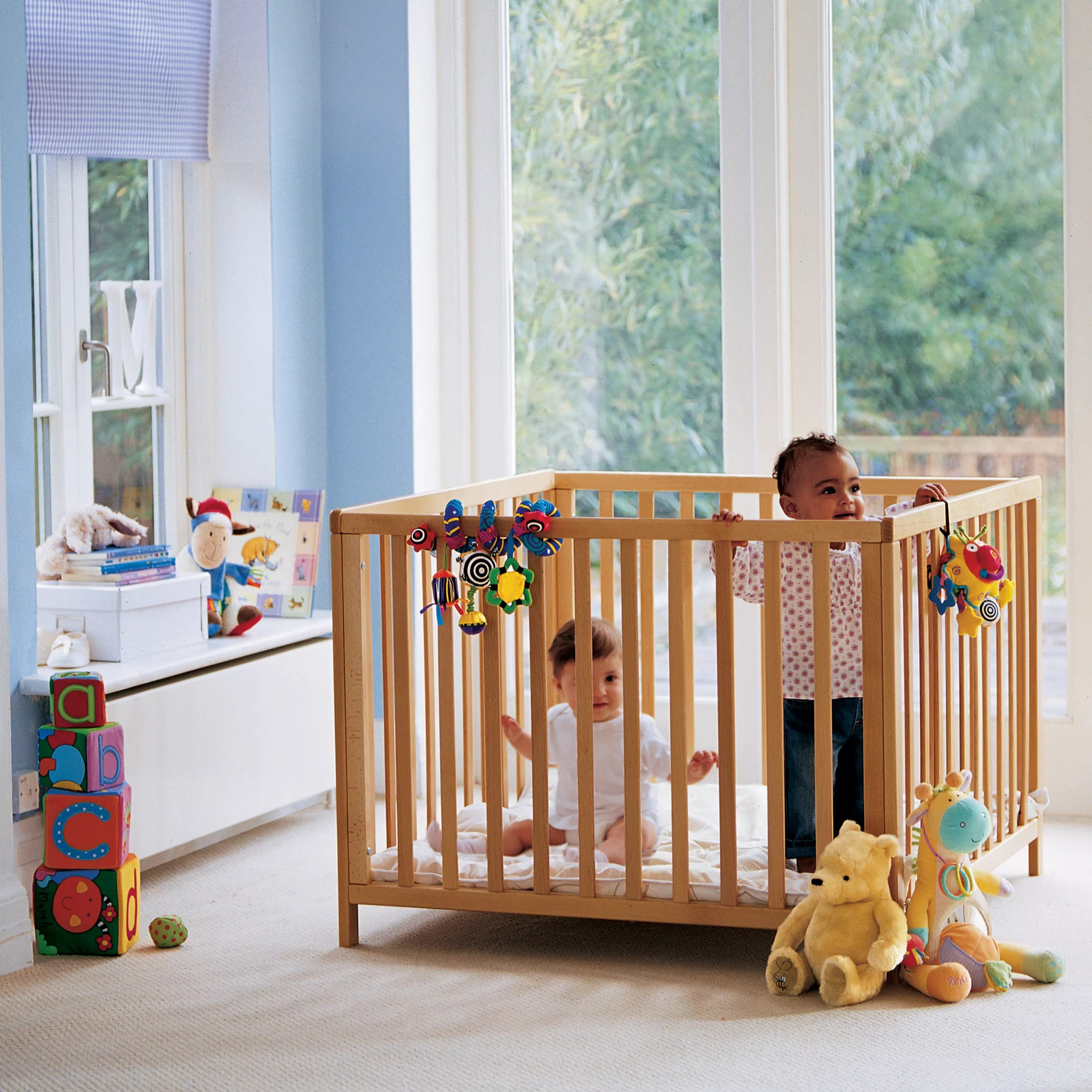 Baby Playpen How Babydan Baby Playpen Beech