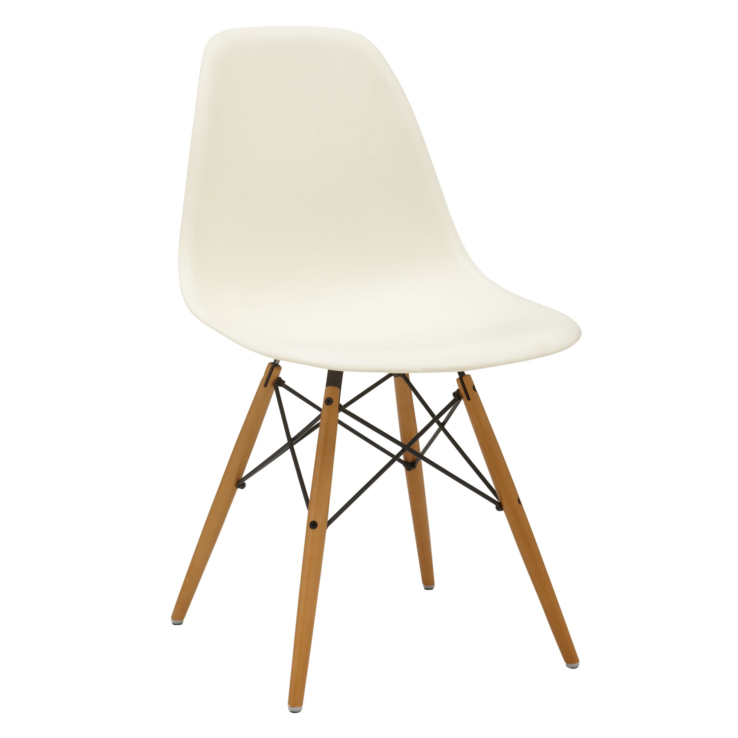 Vitra Eames Side Chair Vitra Eames Dsw Side Chair Light Maple Leg At John Lewis Partners