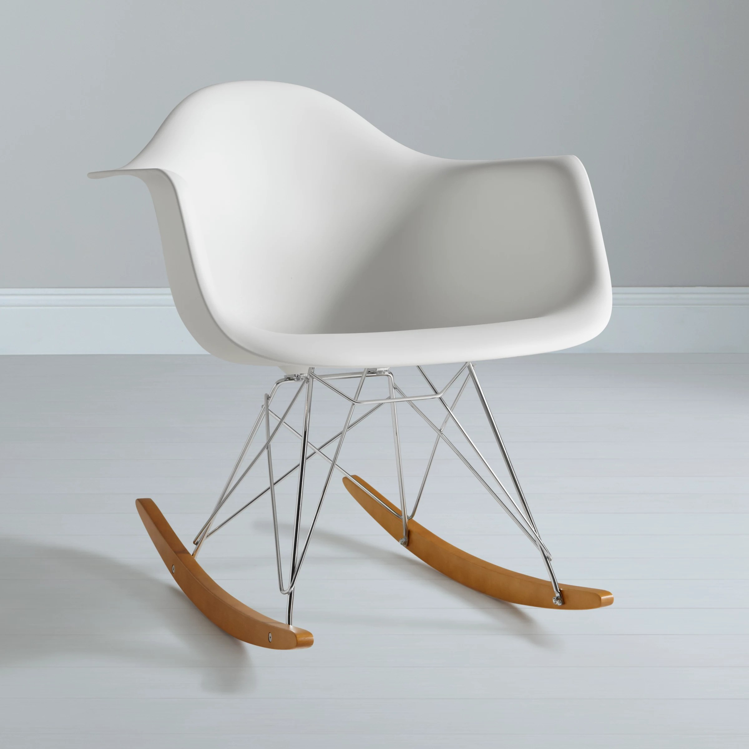 Eames Rar Vitra Eames Rar Rocking Chair White