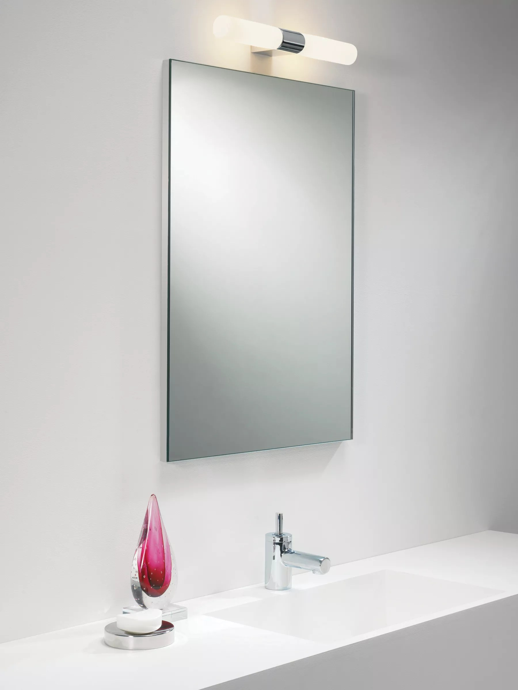 Light Bathroom Mirror Astro Padova Over Mirror Bathroom Light At John Lewis Partners