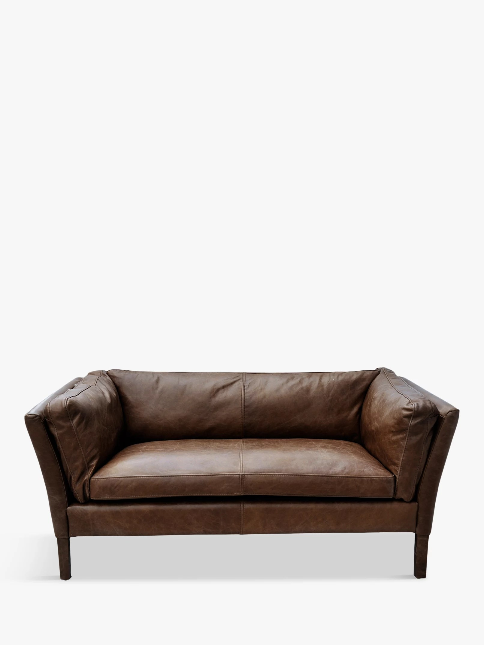 Sofa For Sale Wirral Halo Groucho Small Aniline Leather Sofa Riders Cocoa At John