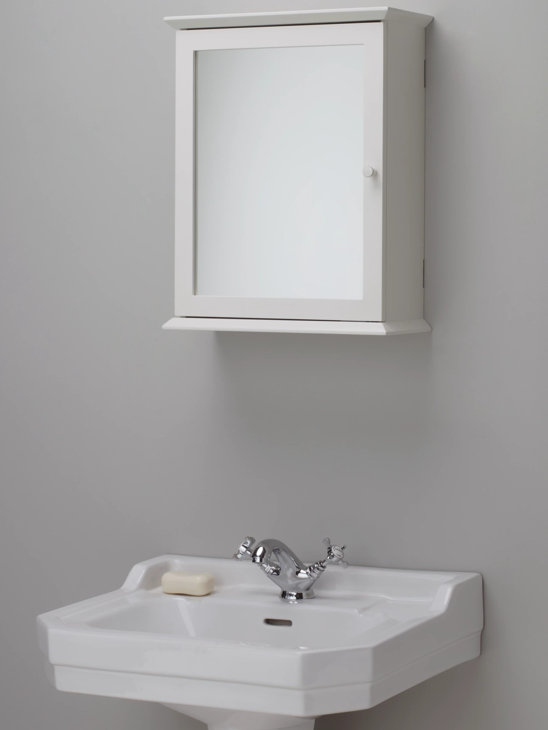 Bathroom Cabinet With Mirror John Lewis St Ives Single Mirrored Bathroom Cabinet At