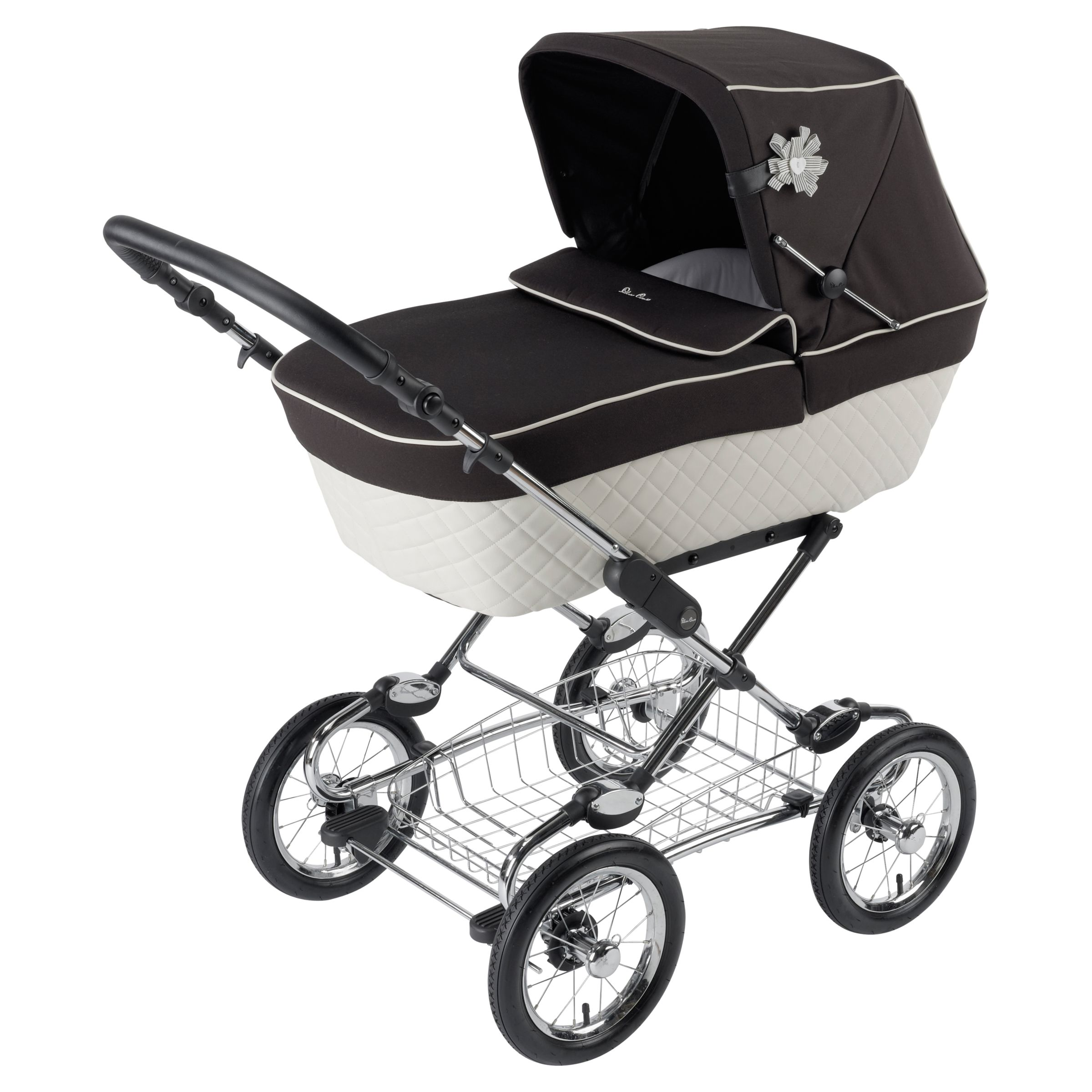 Silver Cross Elegance Buggy Board Silver Cross Sleepover Elegance Body Black Cream At John