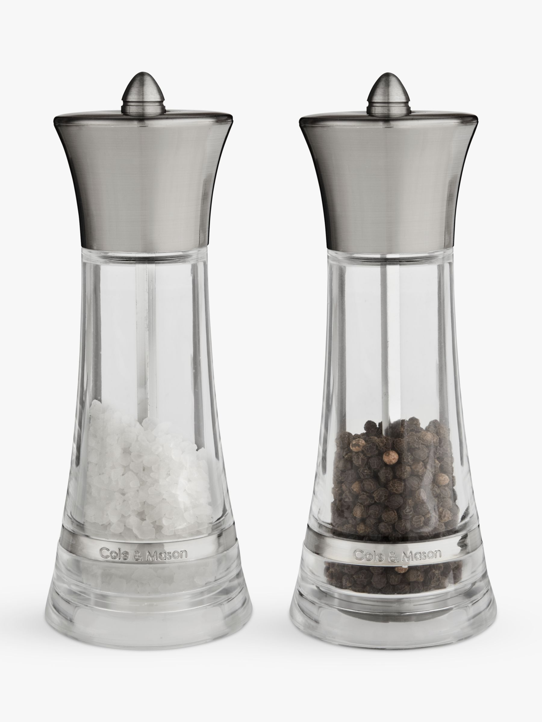 Pepper Finance Reviews Cole Mason Monaco Salt And Pepper Mill Gift Set At John Lewis