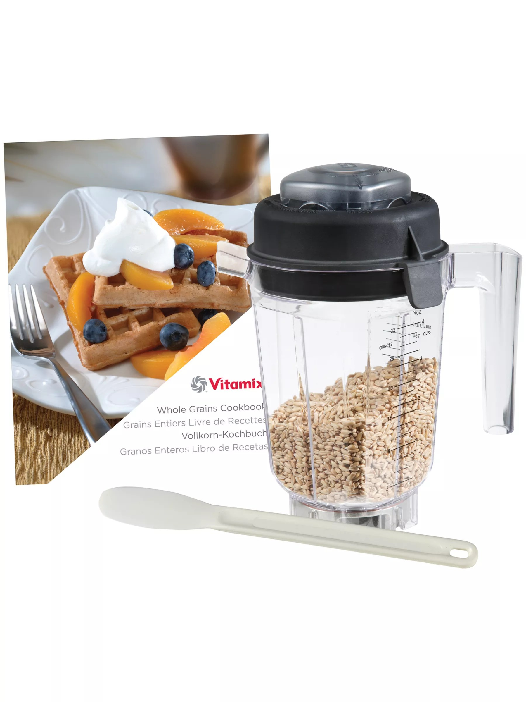 Libro Blender Vitamix Dry Blade Container 9 L With Lid At John Lewis Partners
