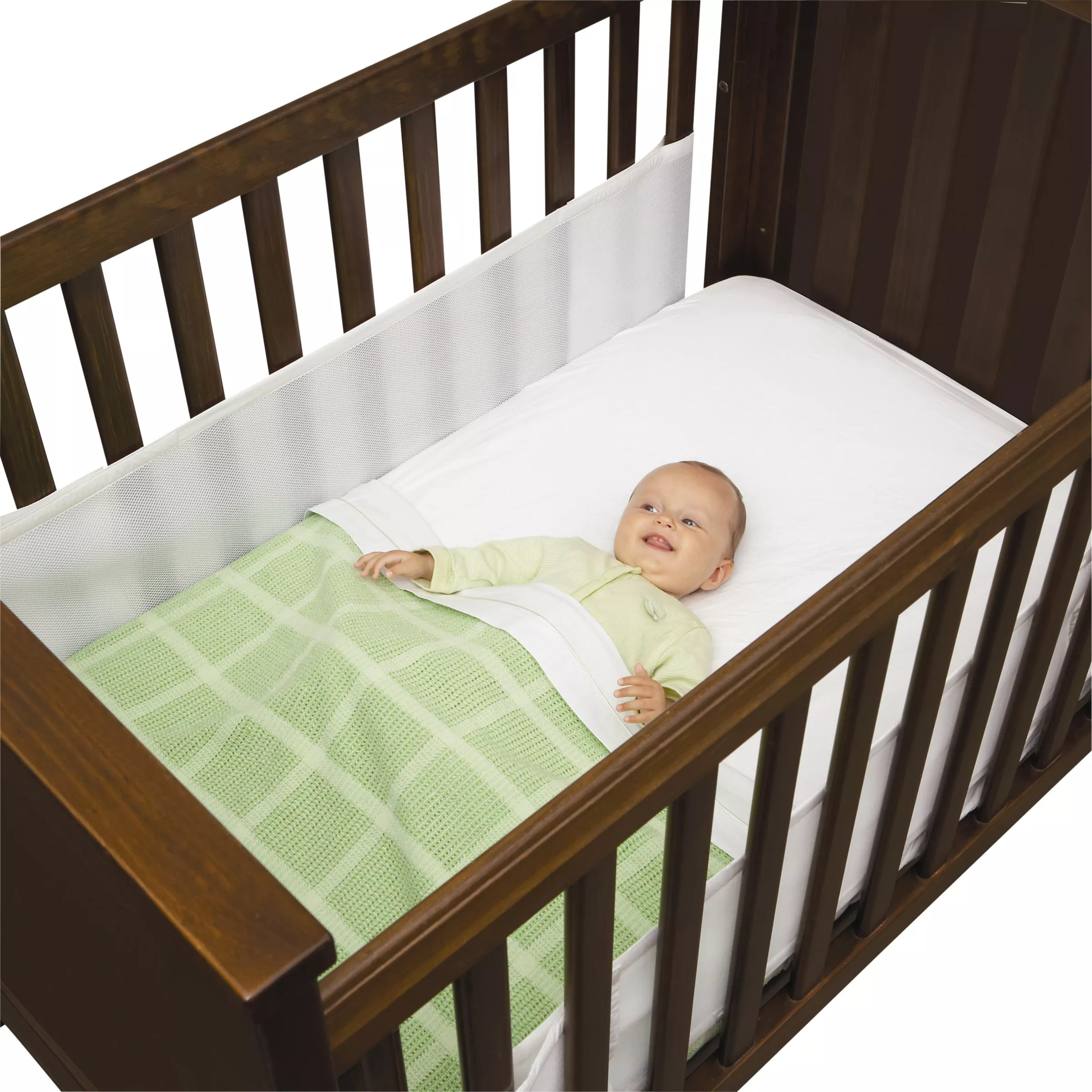 Airwrap Cot Bumper Airwrap Mesh Cot System 2 Sided At John Lewis Partners