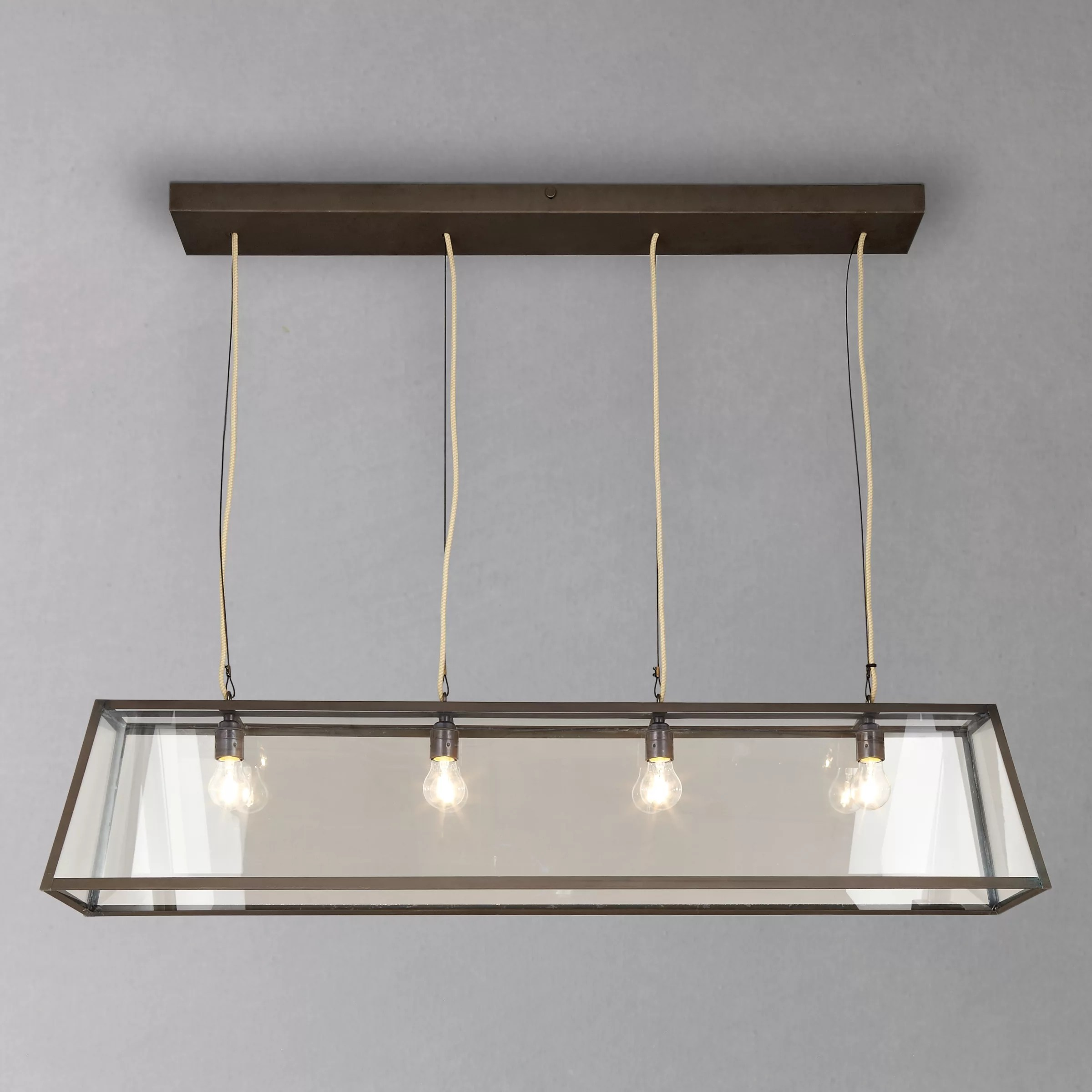 Buy Davey Lighting Triangular Diner Box Ceiling Light