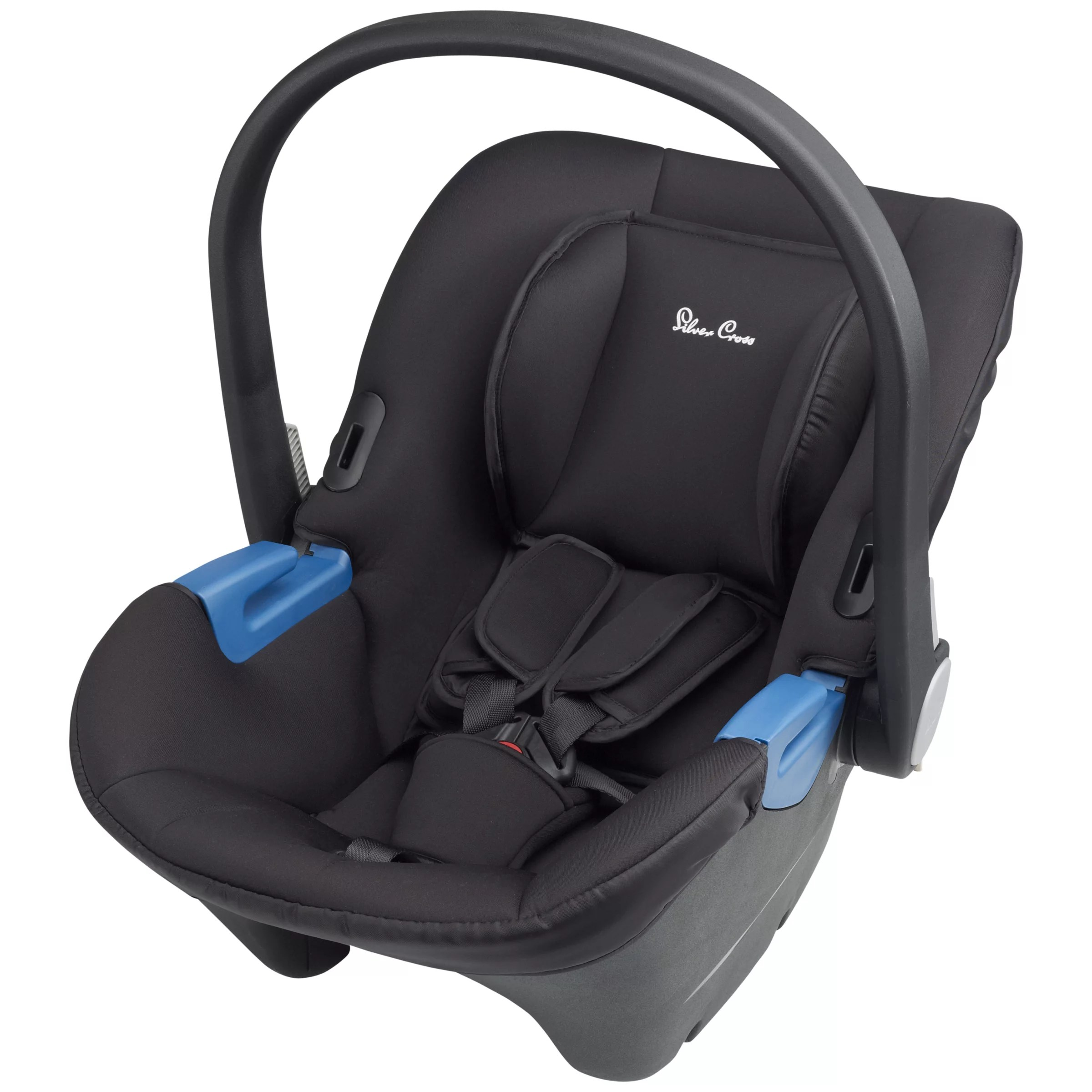 Infant Carrier Car Seat Guide Silver Cross Simplicity Group Baby Car Seat Black