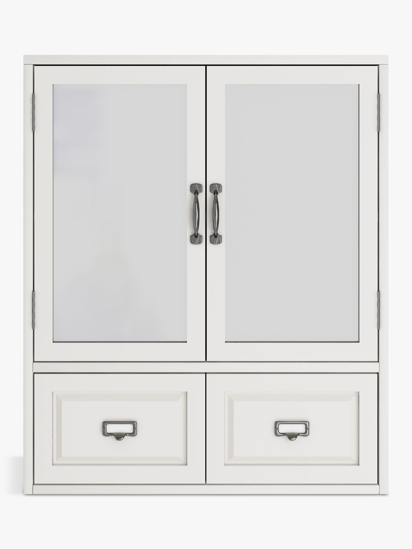 Mirrored Bathroom Cupboard John Lewis Partners Apothecary Double Mirrored Bathroom Cabinet