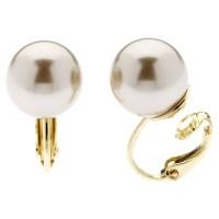 Buy Finesse Faux Pearl Clip-On Earrings | John Lewis