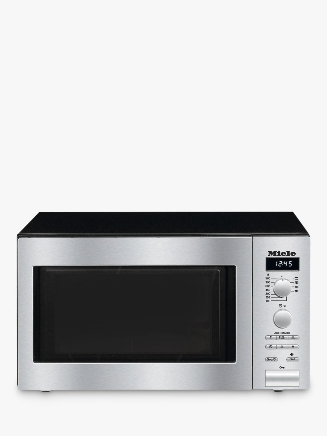 Combimagnetron Miele Miele M6012 Contourline Microwave Oven With Grill Stainless Steel