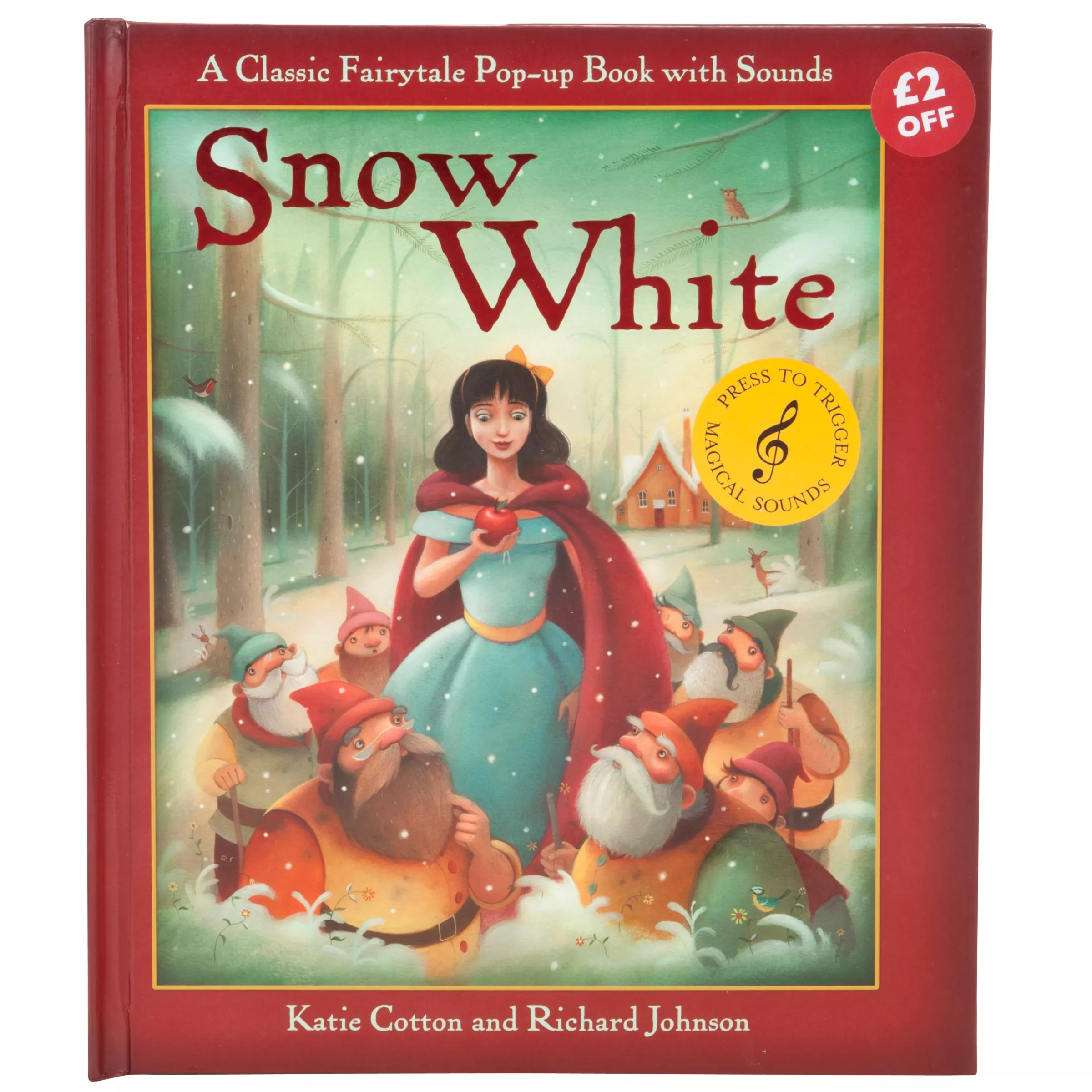 Pop Up Book Cover Snow White Pop Up Book With Sounds At John Lewis Partners