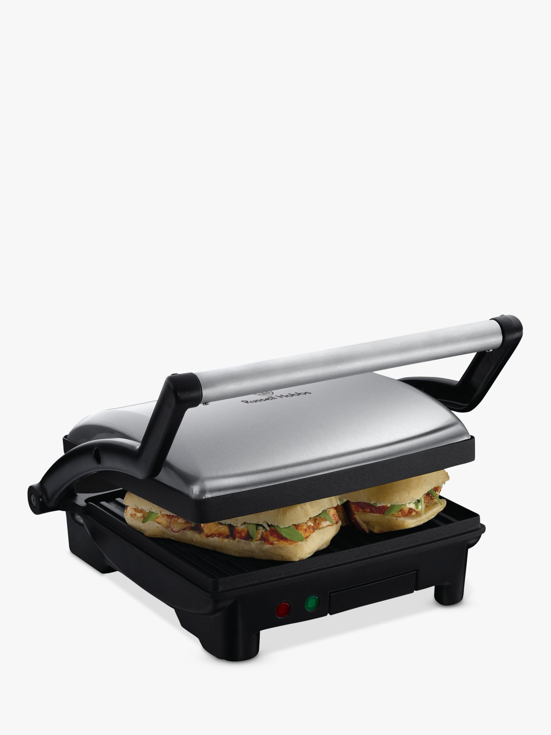 Grille Panini Russell Hobbs Cook At Home 3 In 1 Panini Maker Grill And Griddle