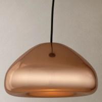 Tom Dixon Void Pendant Light | Copper at John Lewis