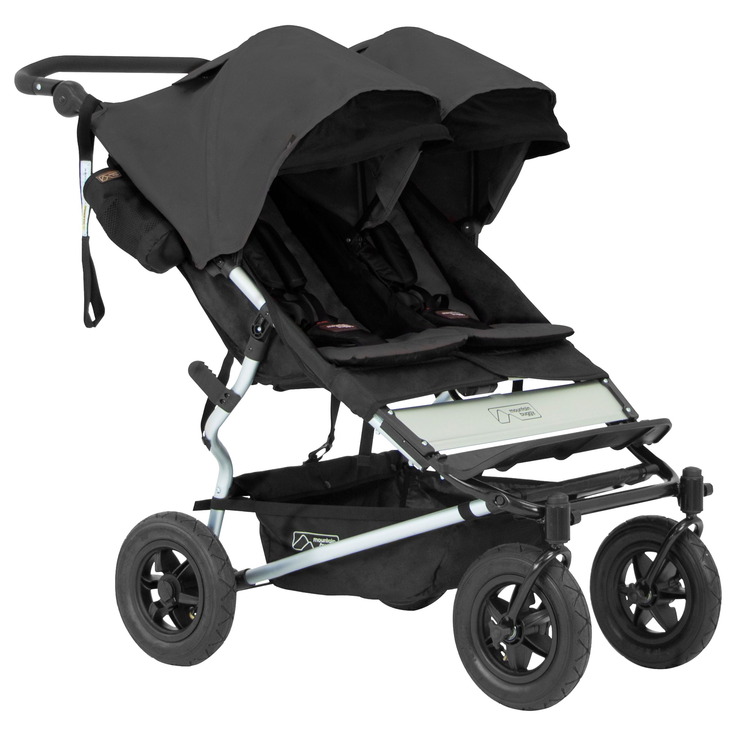 Mountain Buggy Double Kit Mountain Buggy Duet V2 5 Pushchair Flint At John Lewis