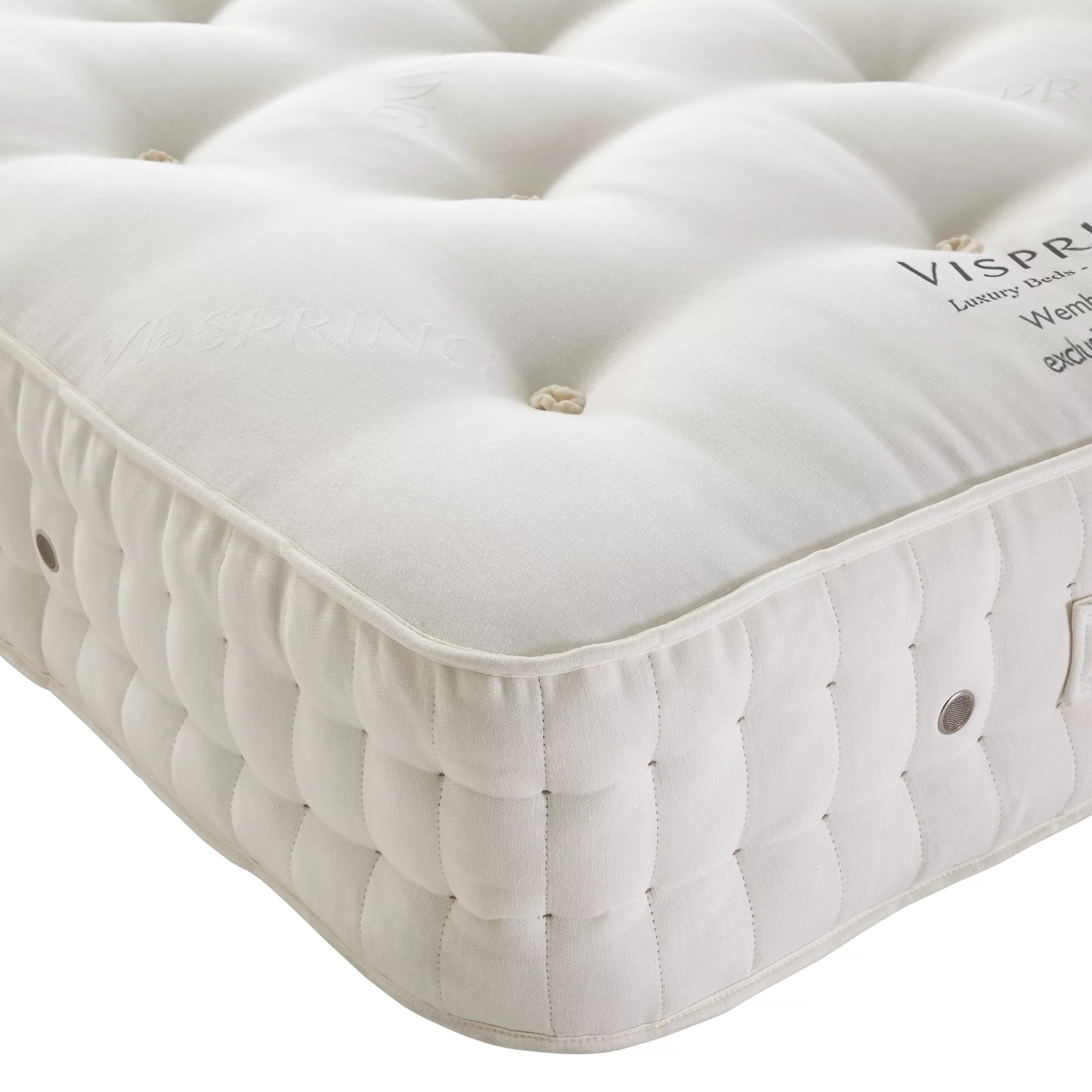Vi Mattress Vispring Wembury Superb Mattress Medium King Size At John Lewis