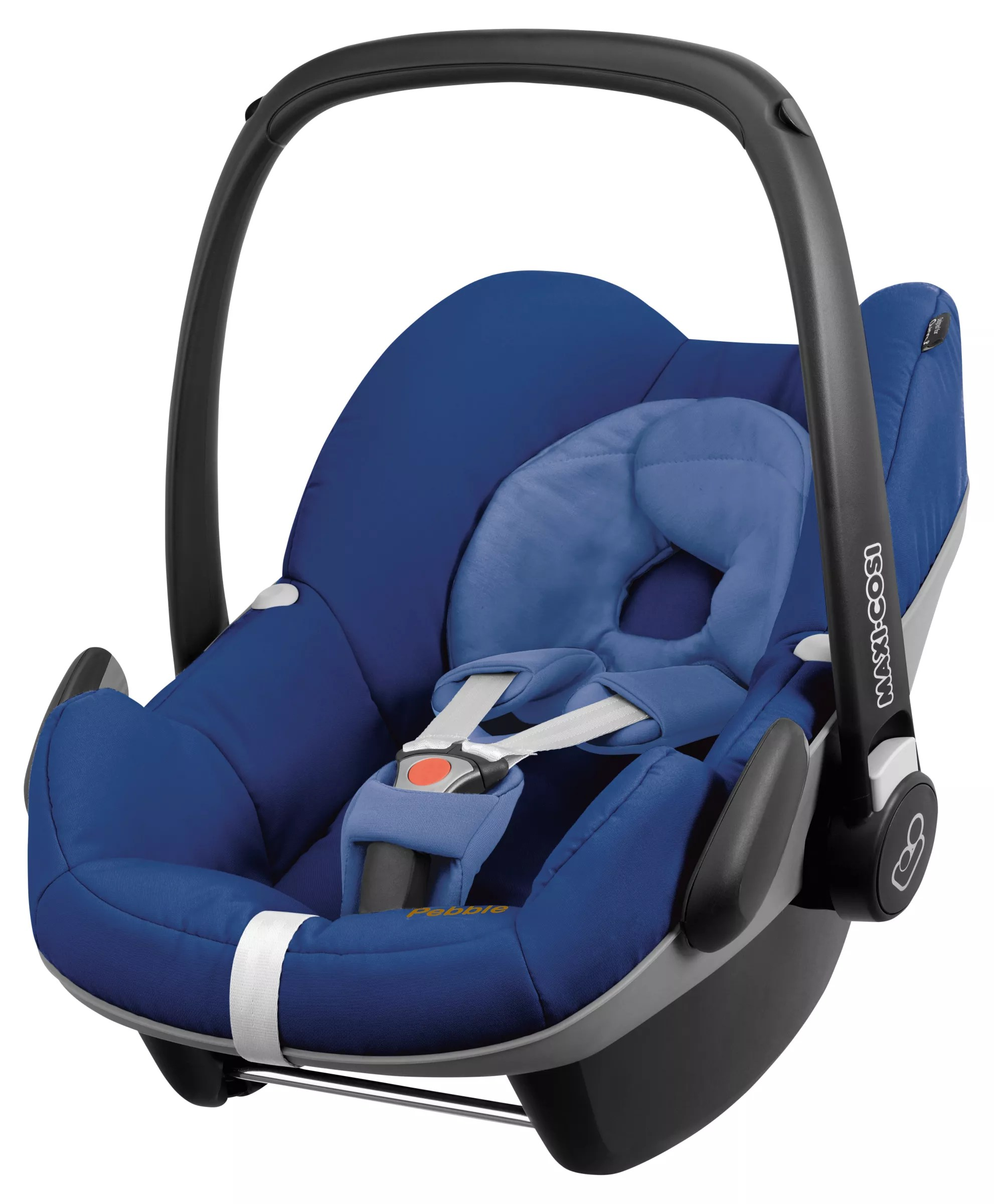 Travel System Isofix Compatible Maxi Cosi Pebble Group Baby Car Seat Blue Base At John