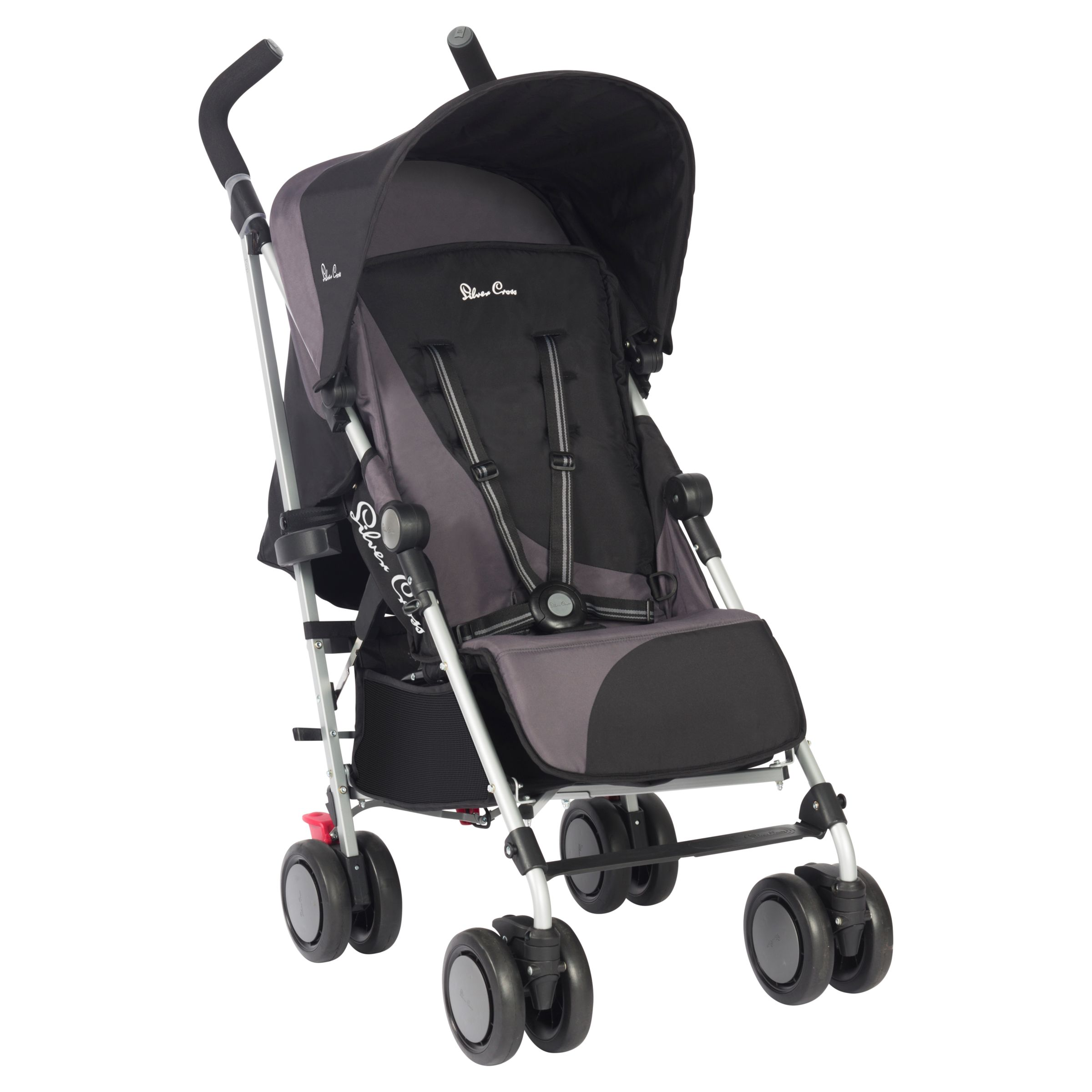 Baby Pram John Lewis Silver Cross Pop Stroller Black At John Lewis Partners
