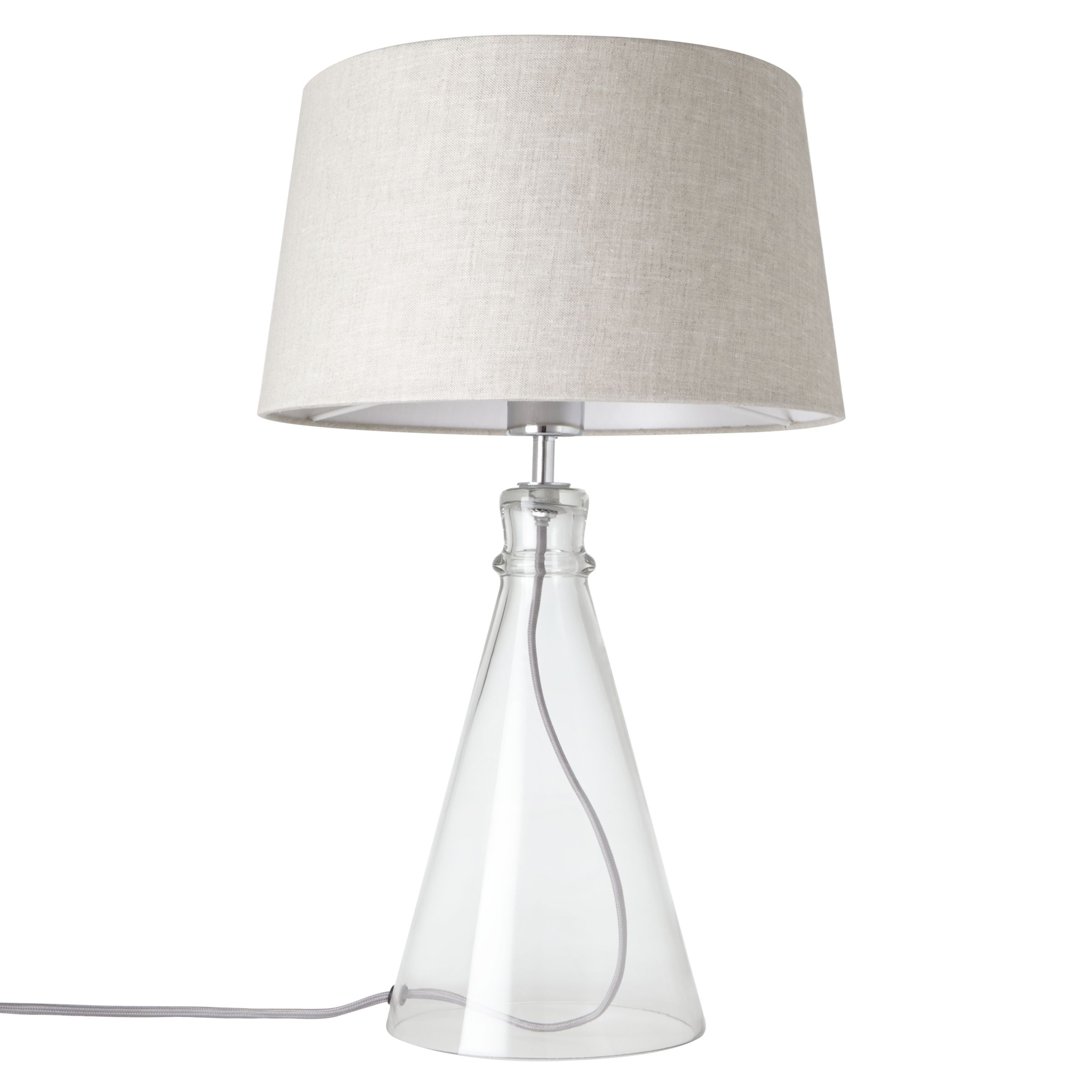 Glass Lamp John Lewis Croft Collection Abel Glass Bell Table Lamp At John Lewis