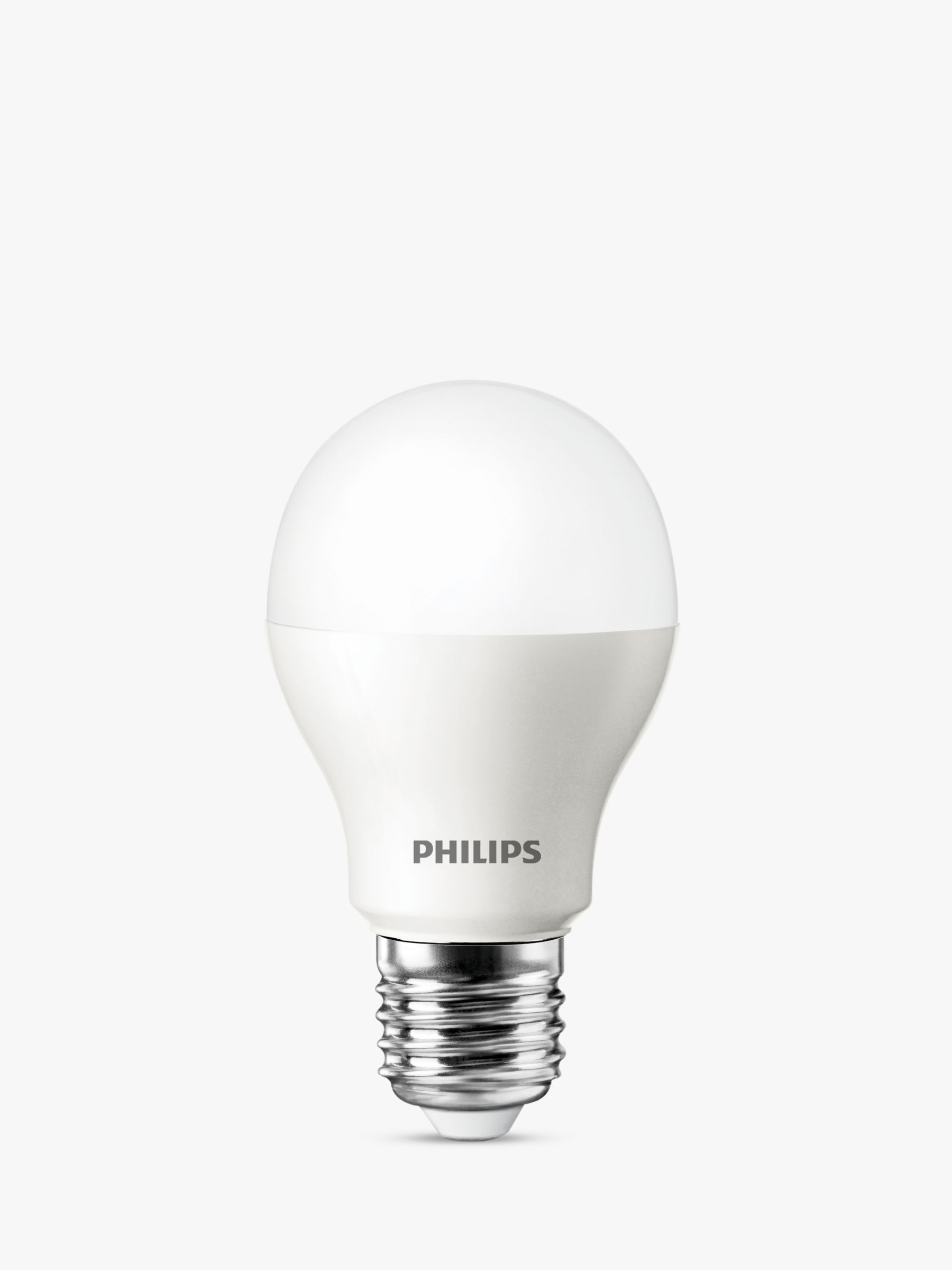 Philips Classic Led Philips 5 5w Es Classic Led Light Bulb Frosted At John Lewis