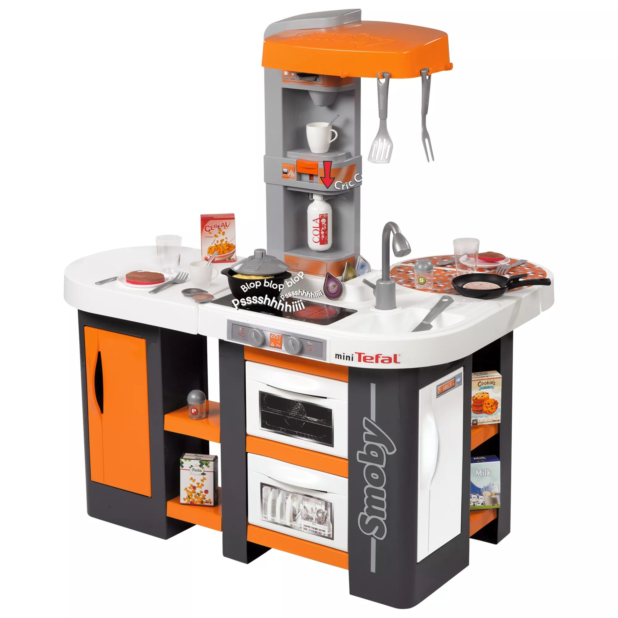Mini Cuisine Studio Smoby Tefal Cuisine Studio Xl Kitchen Set At John Lewis Partners