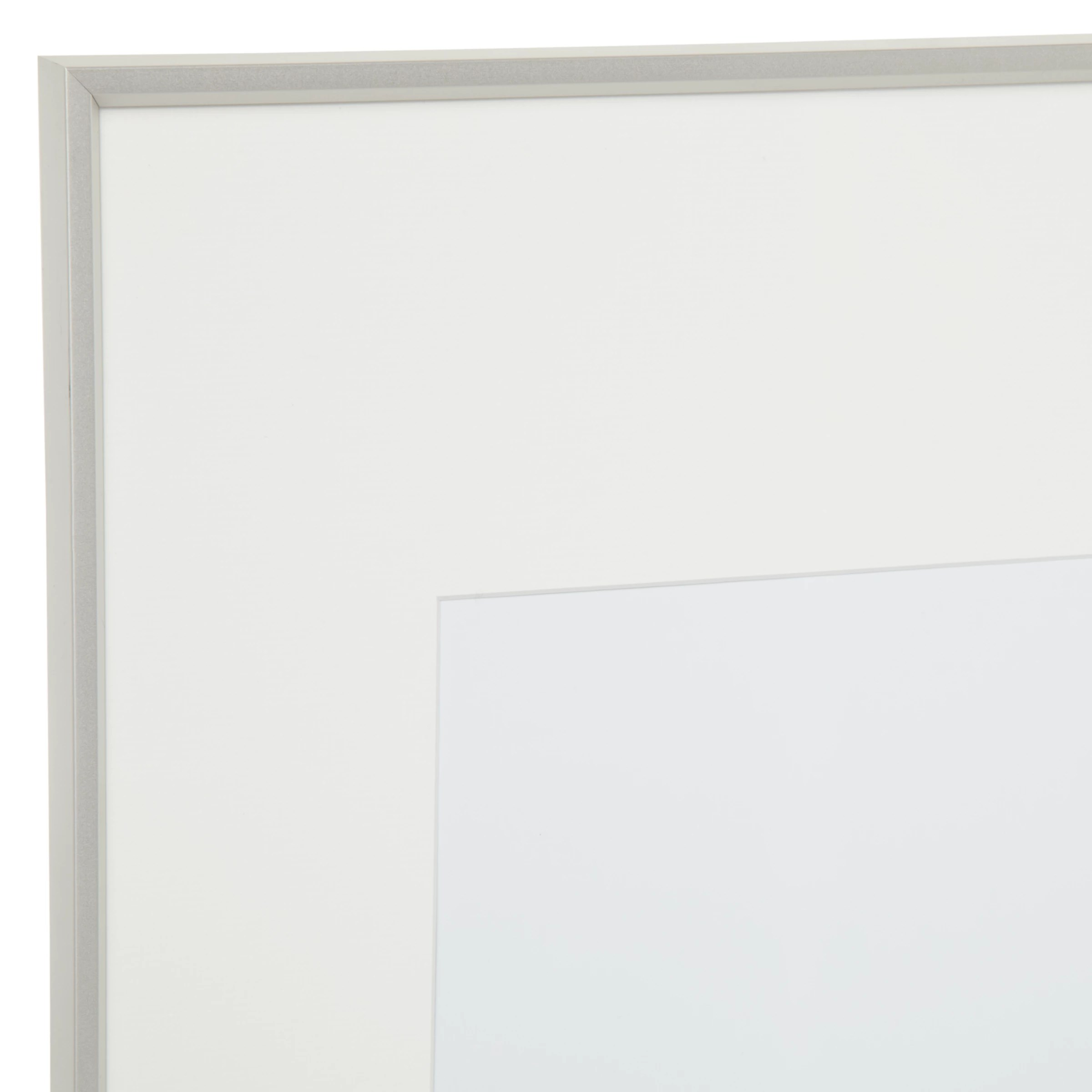 A2 White Frame House By John Lewis Aluminium Photo Frame A1 With A2 Mount