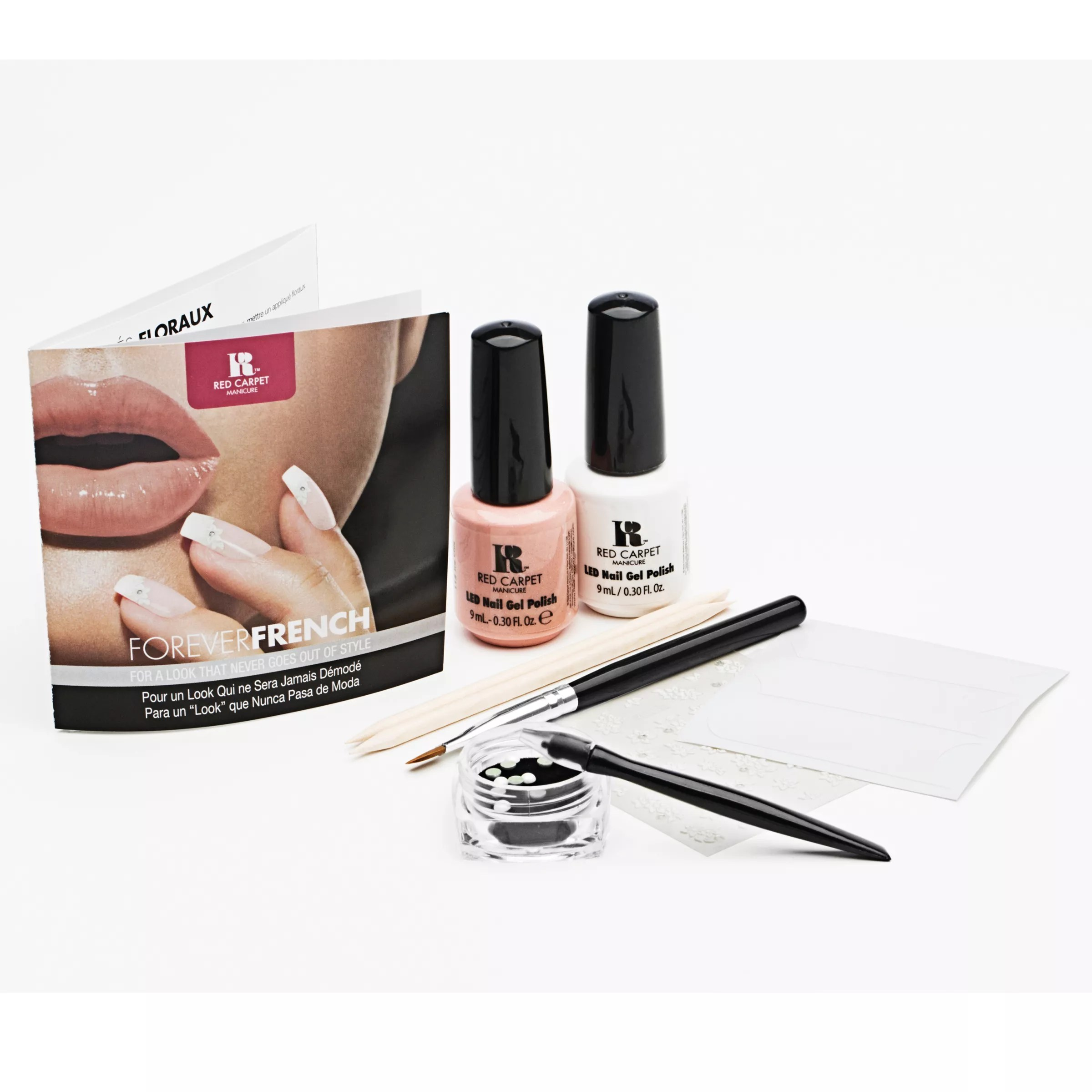 Buy Red Carpet Manicure Forever French Nail Art Kit John