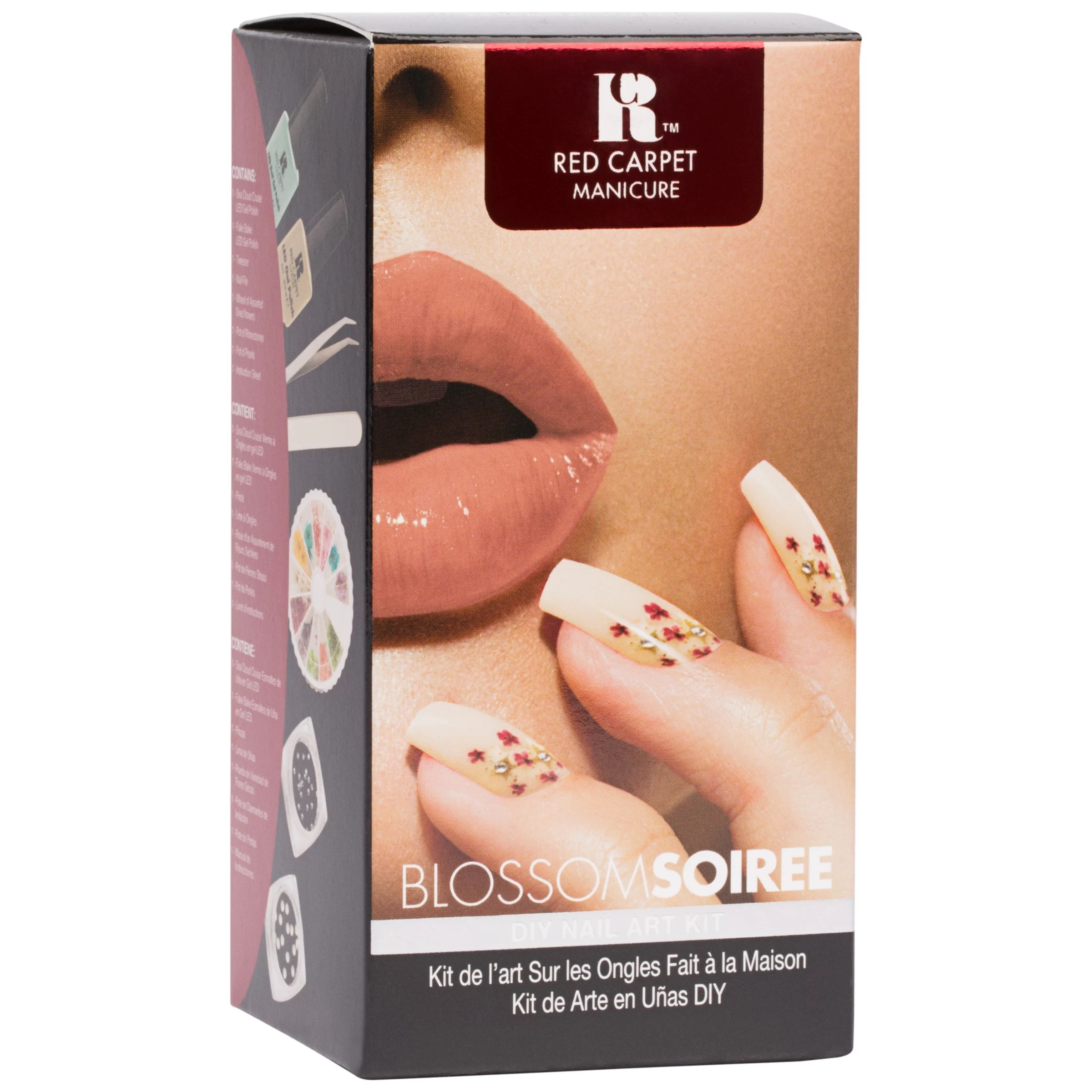 Red Carpet Manicure Blossom Soiree Flower Desing Nail Art Kit At John Lewis Partners