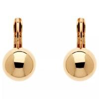 Buy Finesse Ball Leverback Clip-On Earrings | John Lewis