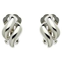 Buy Finesse Diamond Shape Clip-On Earrings | John Lewis
