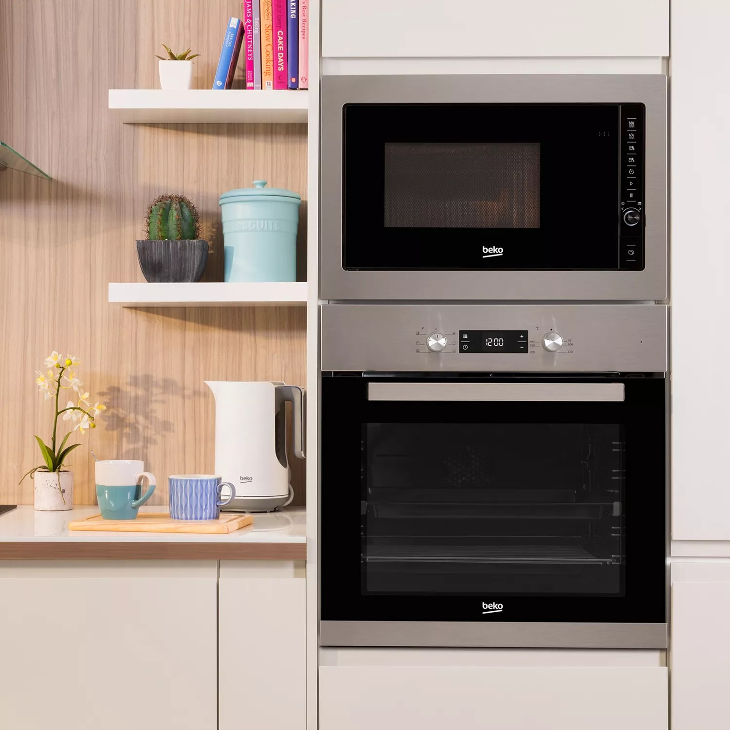 Integrated Microwave Beko Mgb25332bg Integrated Microwave With Grill Stainless