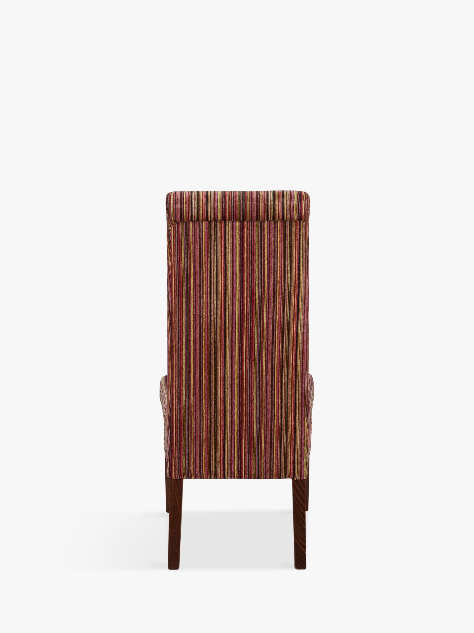 Upholstered Children's Chairs John Lewis Partners Maharani Upholstered Dining Chair Raspberry Stripe