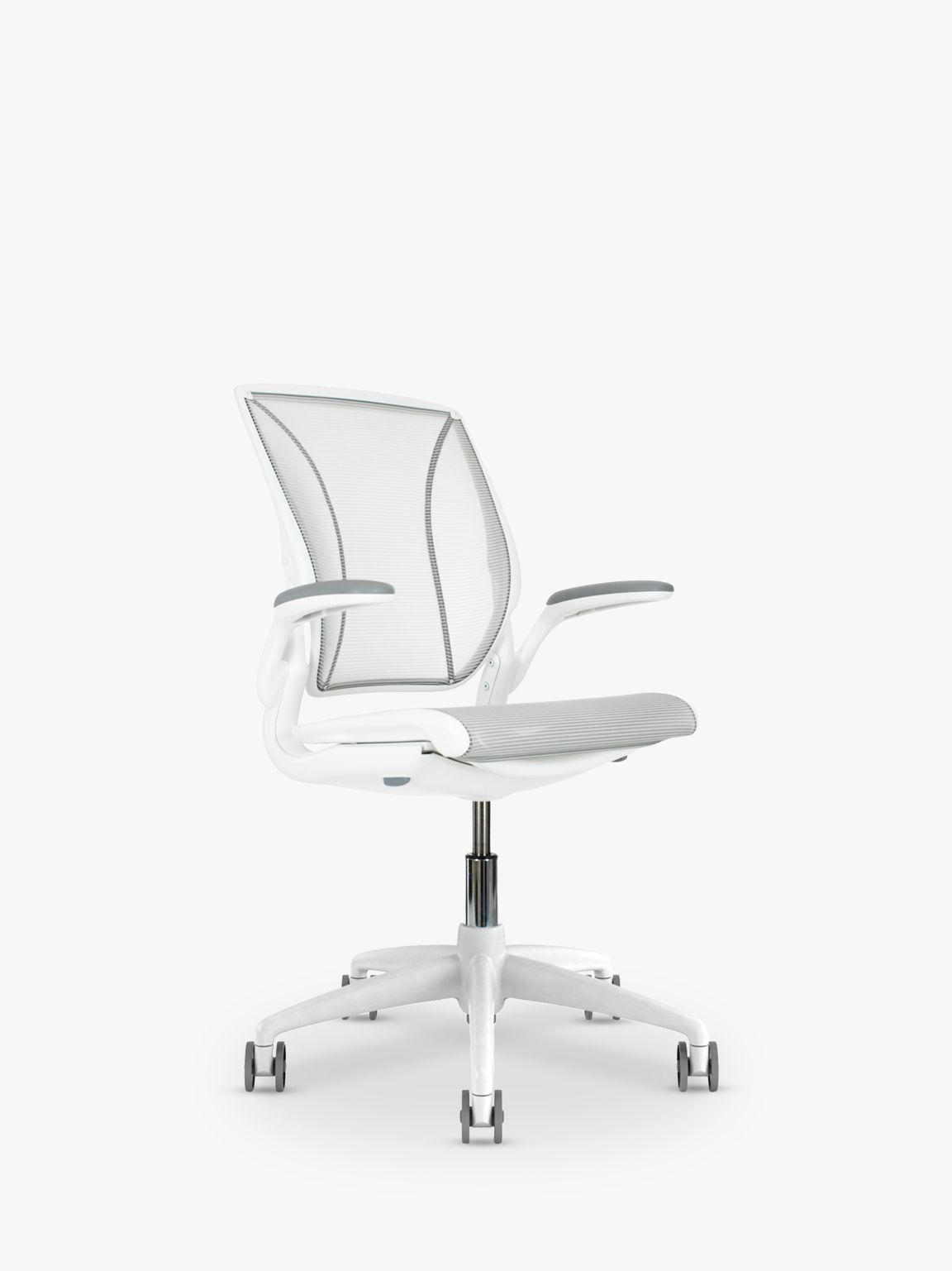 Office Chair White Humanscale Diffrient World Office Chair White At John Lewis