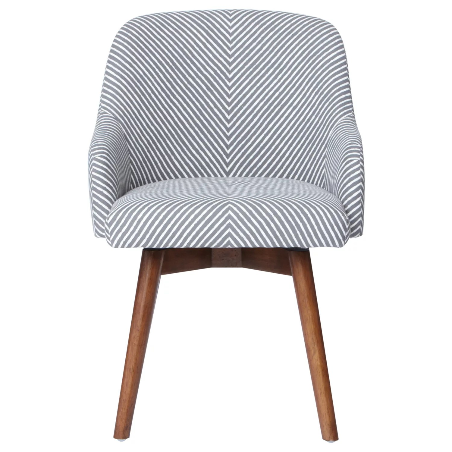 Saddle Office Chair West Elm Saddle Office Chair Painted Stripe Gravel At John Lewis