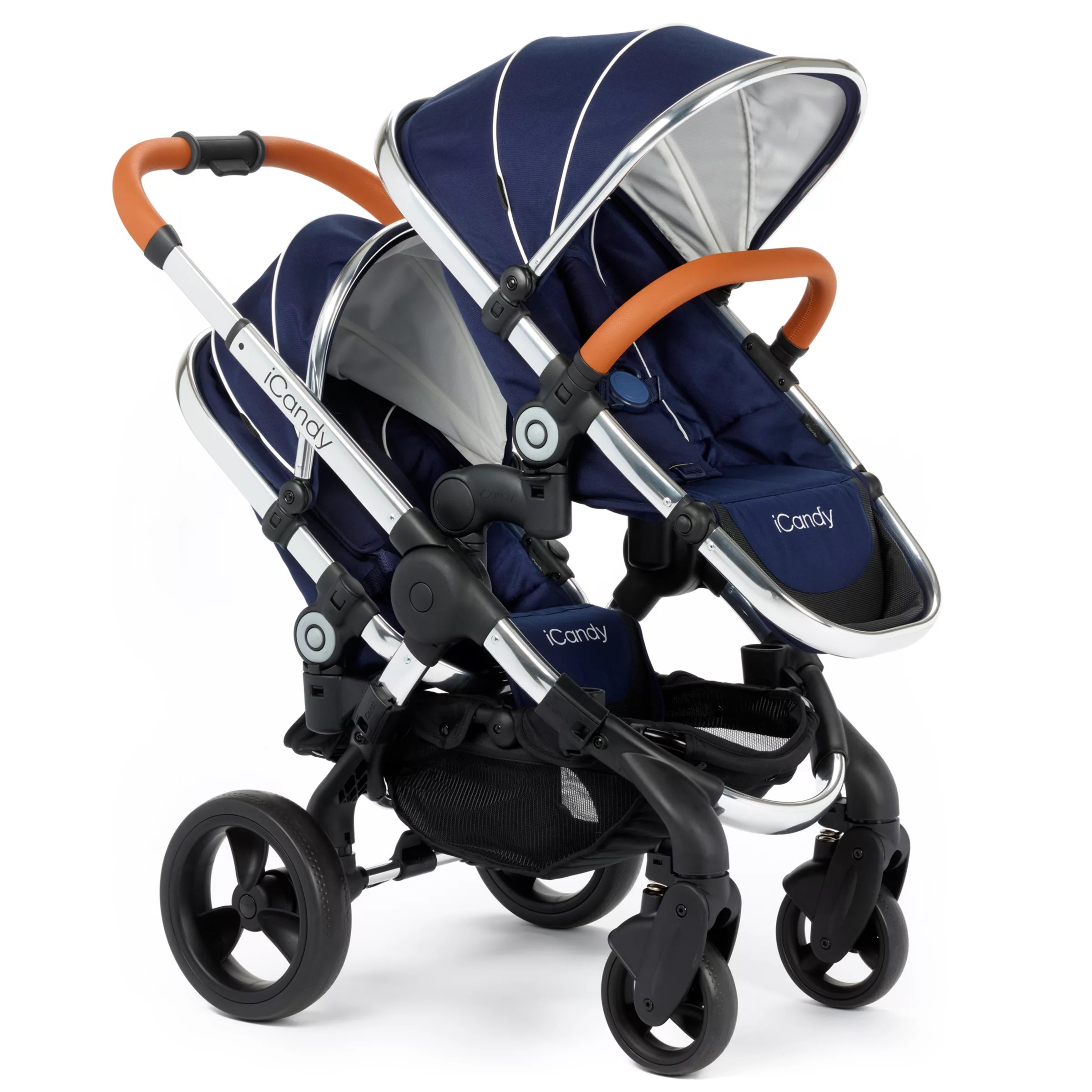 Baby Buggies Travel System Icandy Peach Blossom Pushchair Royal Blue At John Lewis