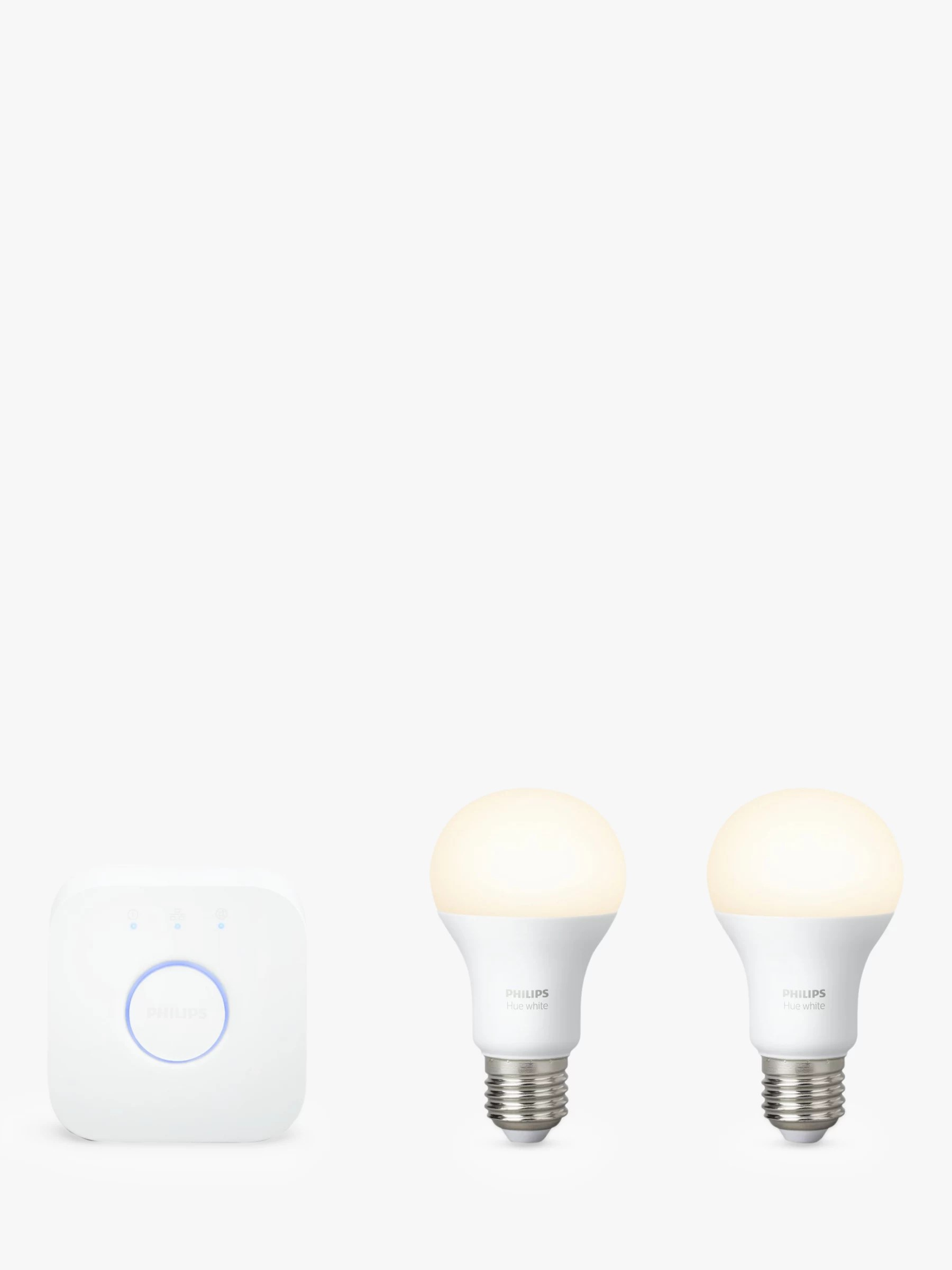 Philips Hub Philips Hue White Personal Wireless Lighting Led Starter Kit