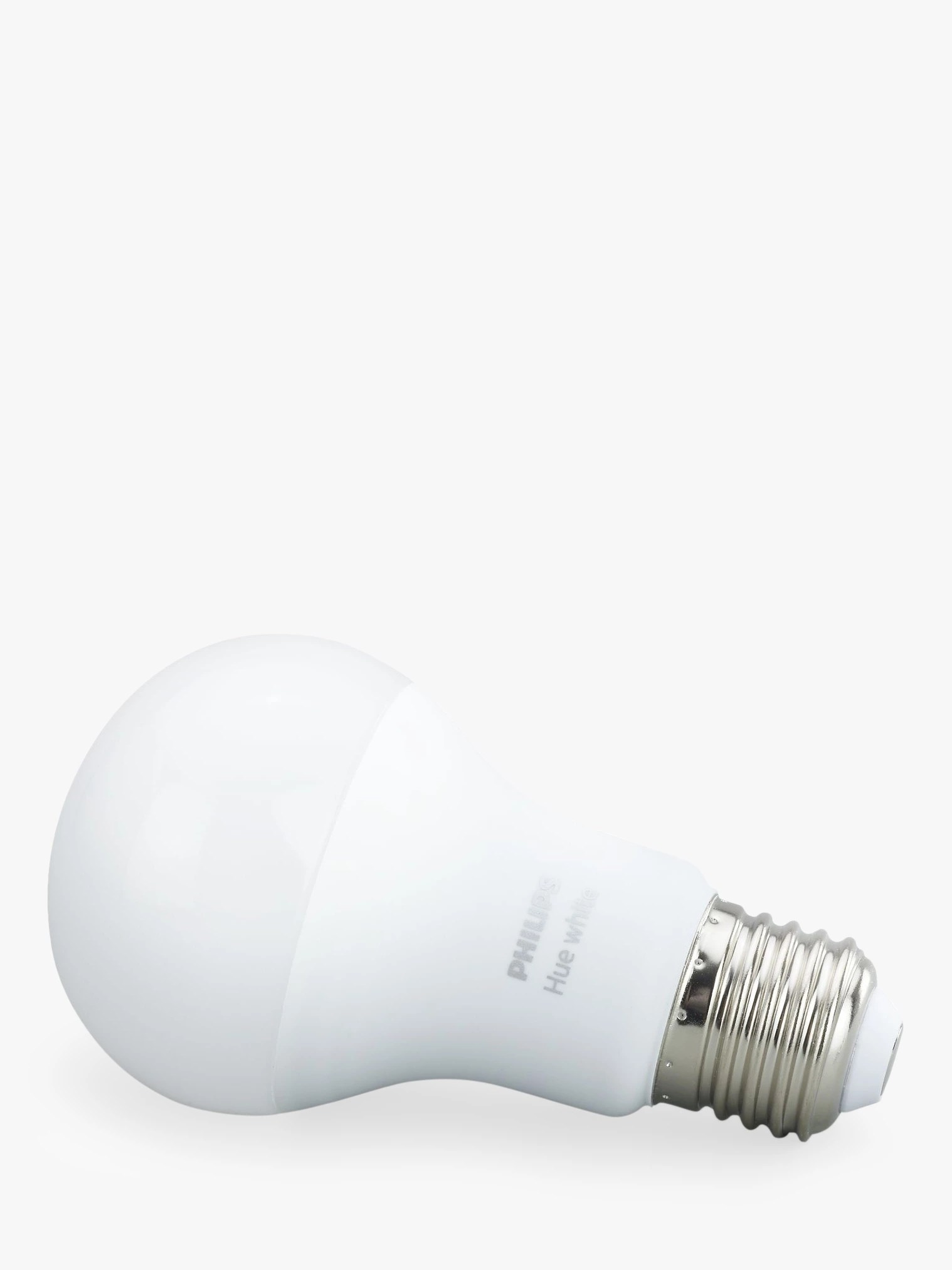 Hue Fitting Philips Hue White 9 5w A60 Smart Bulb E27 Fitting At John Lewis