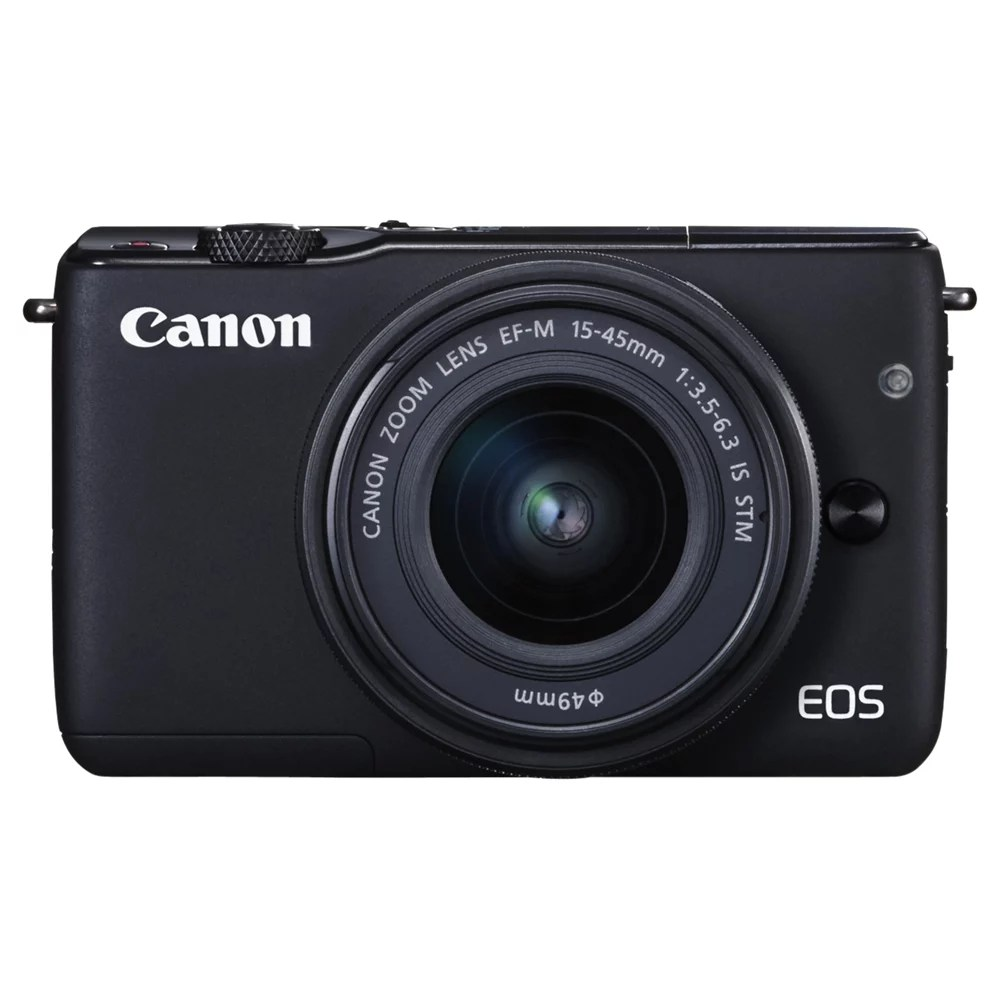 Canon Eos M10 Canon Eos M10 Compact System Camera With Ef M 15 45mm F 3