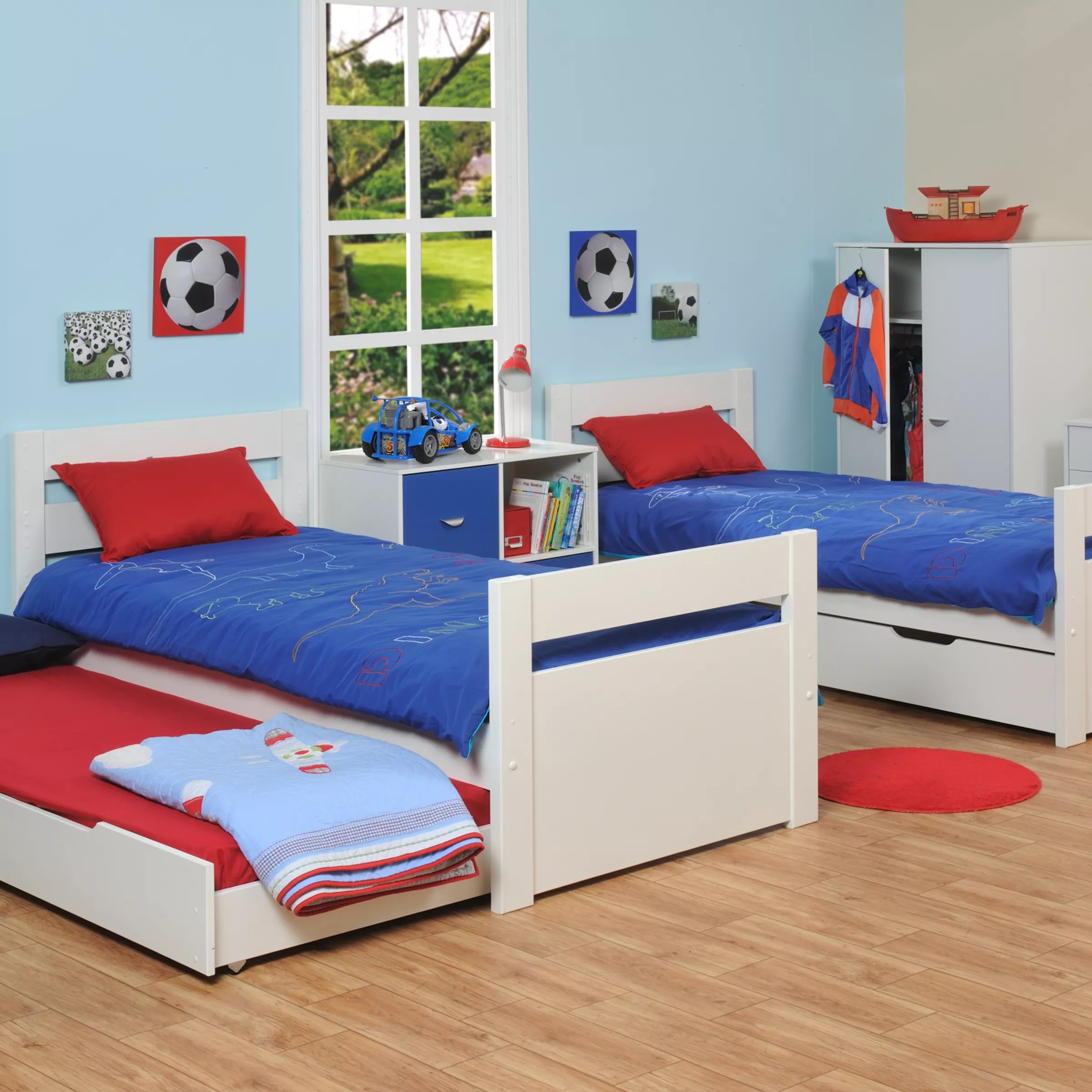 Stompa Classic Bunk Bed Stompa Originals Multi Bunk Bed With Trundle