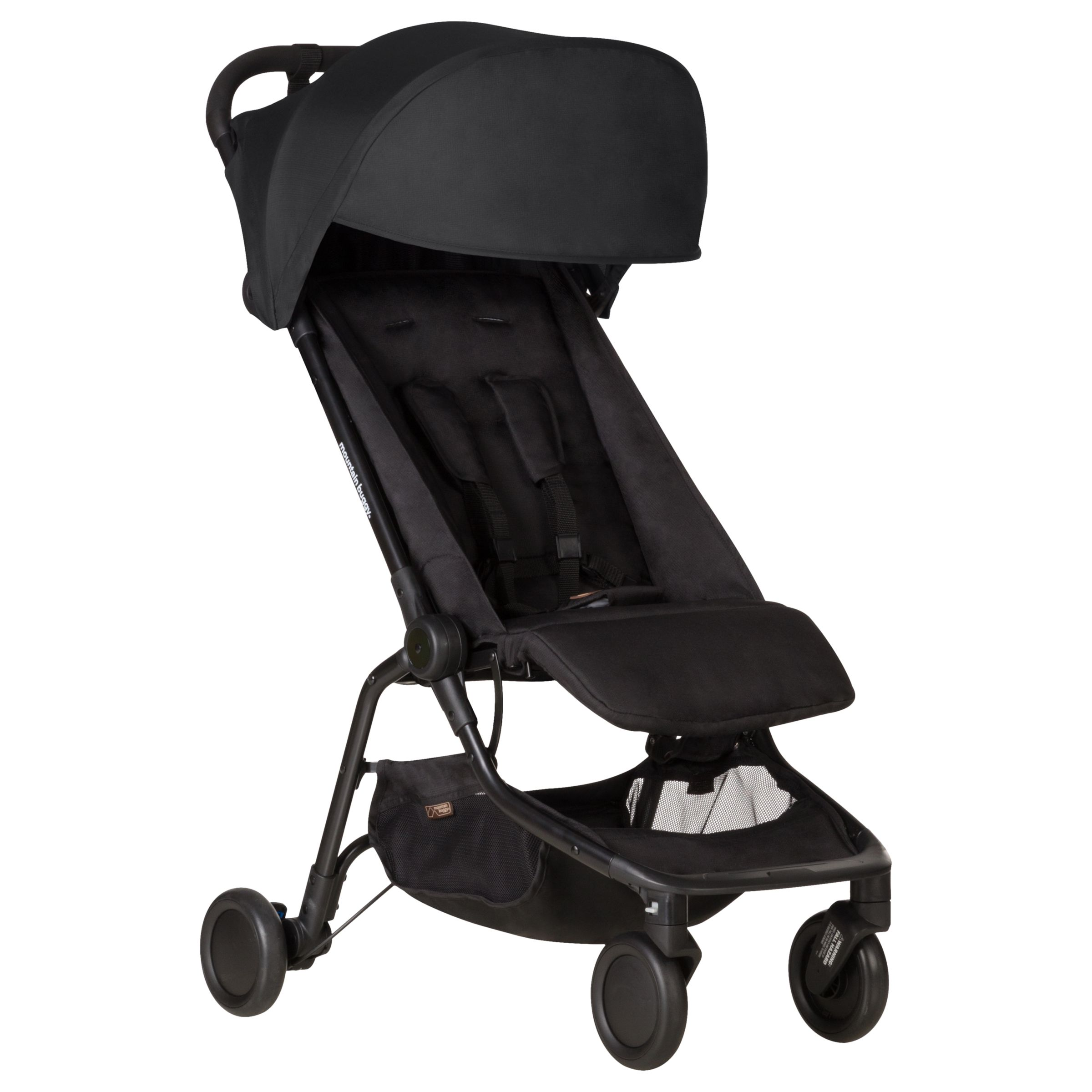 Mountain Buggy Car Seat Installation Mountain Buggy Nano V2 Stroller Black