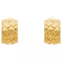 Monet Satin Lattice Clip-On Earrings at John Lewis