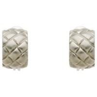 Buy Monet Satin Lattice Clip-On Earrings | John Lewis